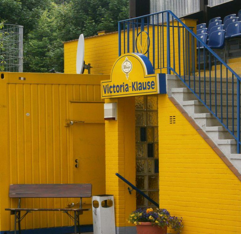 Der Eingang der Victoria-Klause