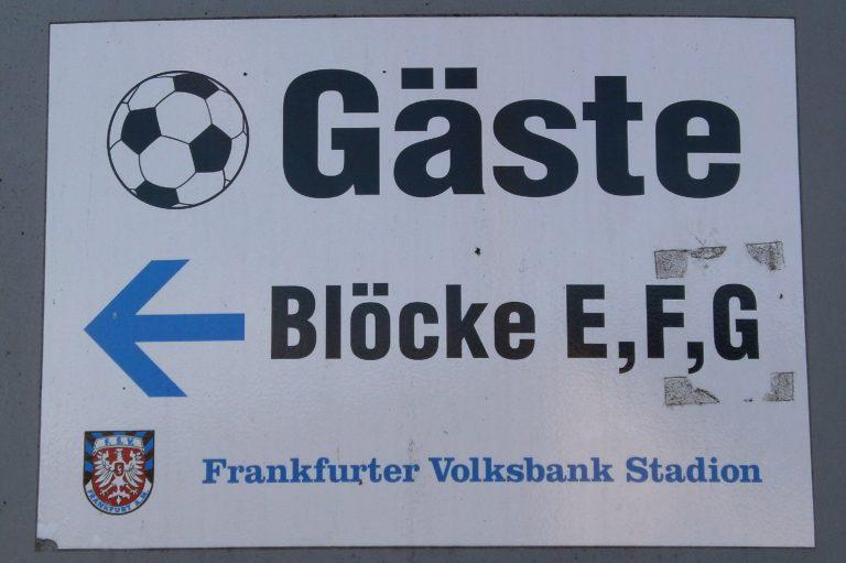 FSV-Gegentribüne, Frankfurt
