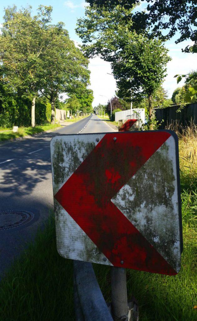 Unfallort von Lutz Eigendorf, Braunschweig