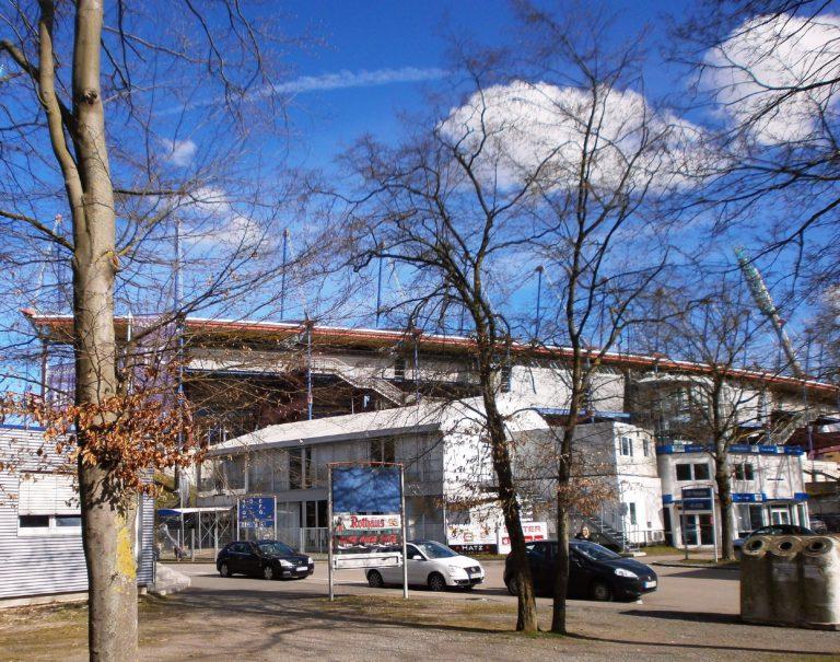 Der Weg zum Wildparkstadion, Karlsruhe