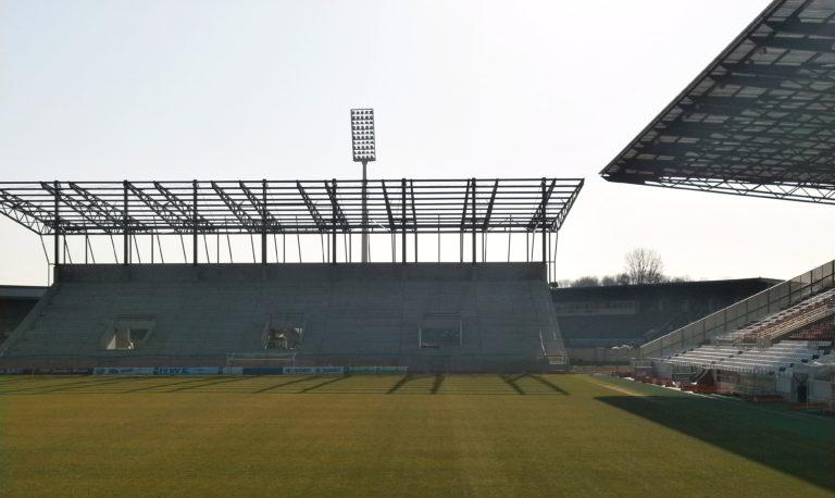 Stadionbaustelle, Essen
