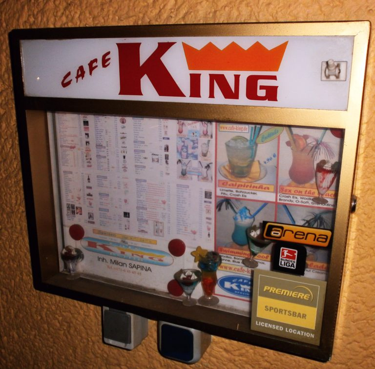 Café King, Berlin-Charlottenburg