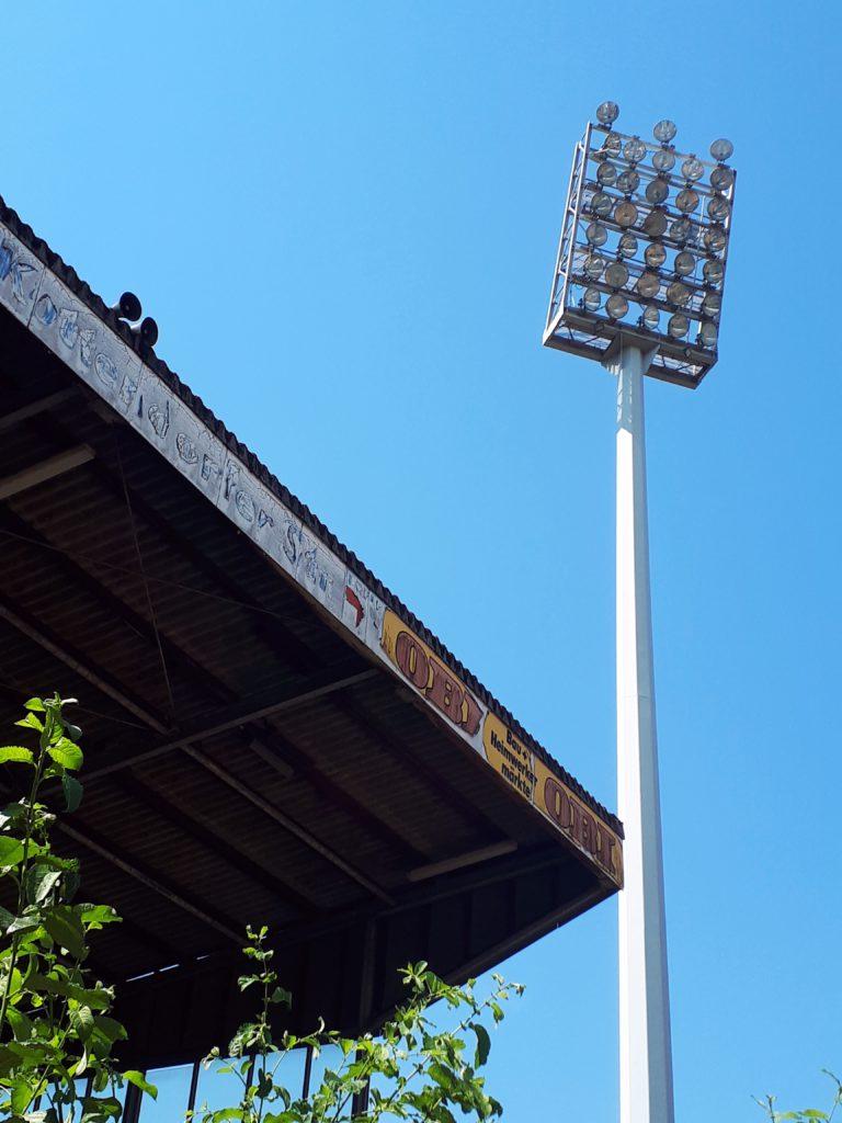 Gedenkminute: Das Stadion am Hermann-Löns-Weg in Solingen