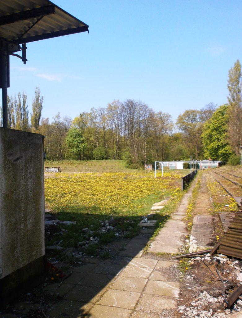 Das Stadion Marienthal in Hamburg-Wandsbek