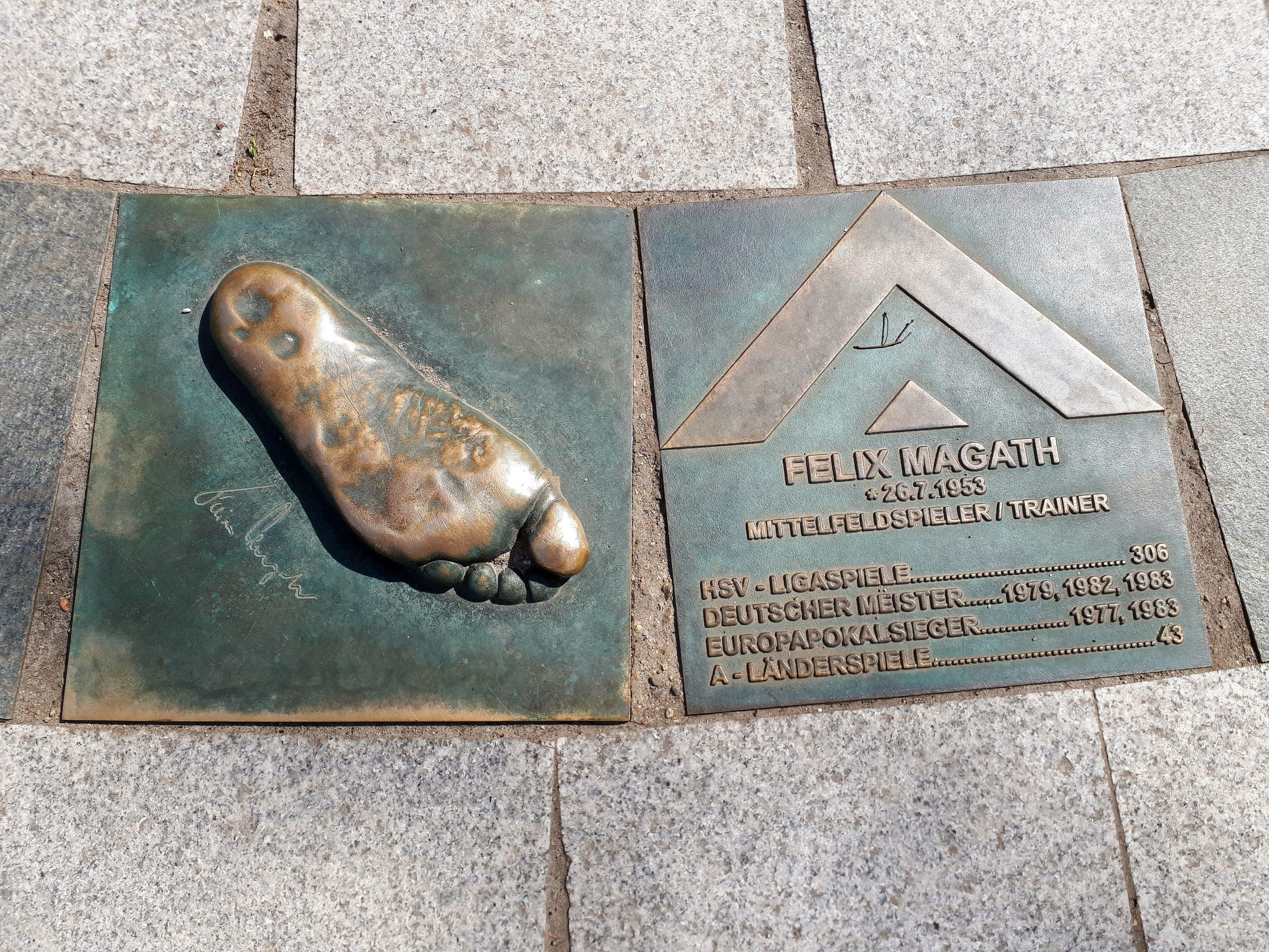 Der Walk of Fame: Felix Magath