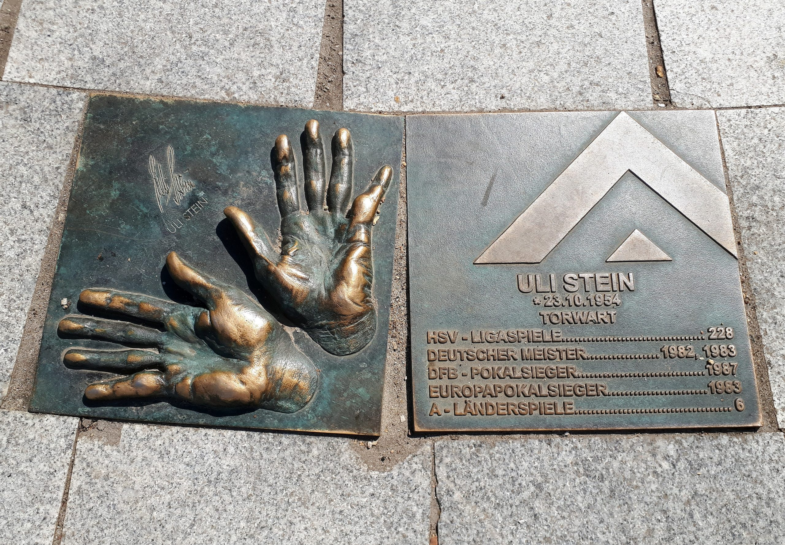 Der Walk of Fame: Uli Stein