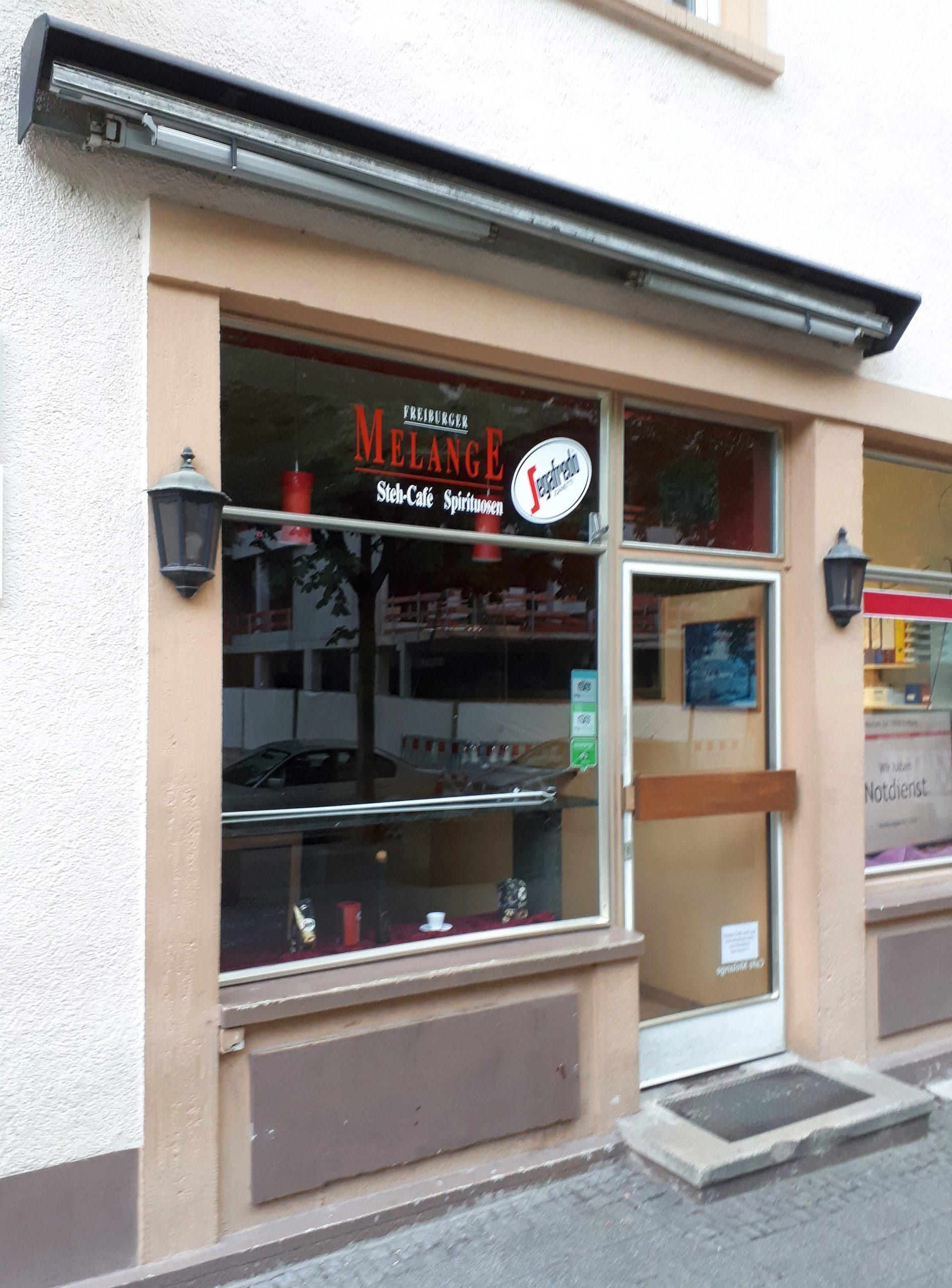 Das Stehcafé Melange in Freiburg