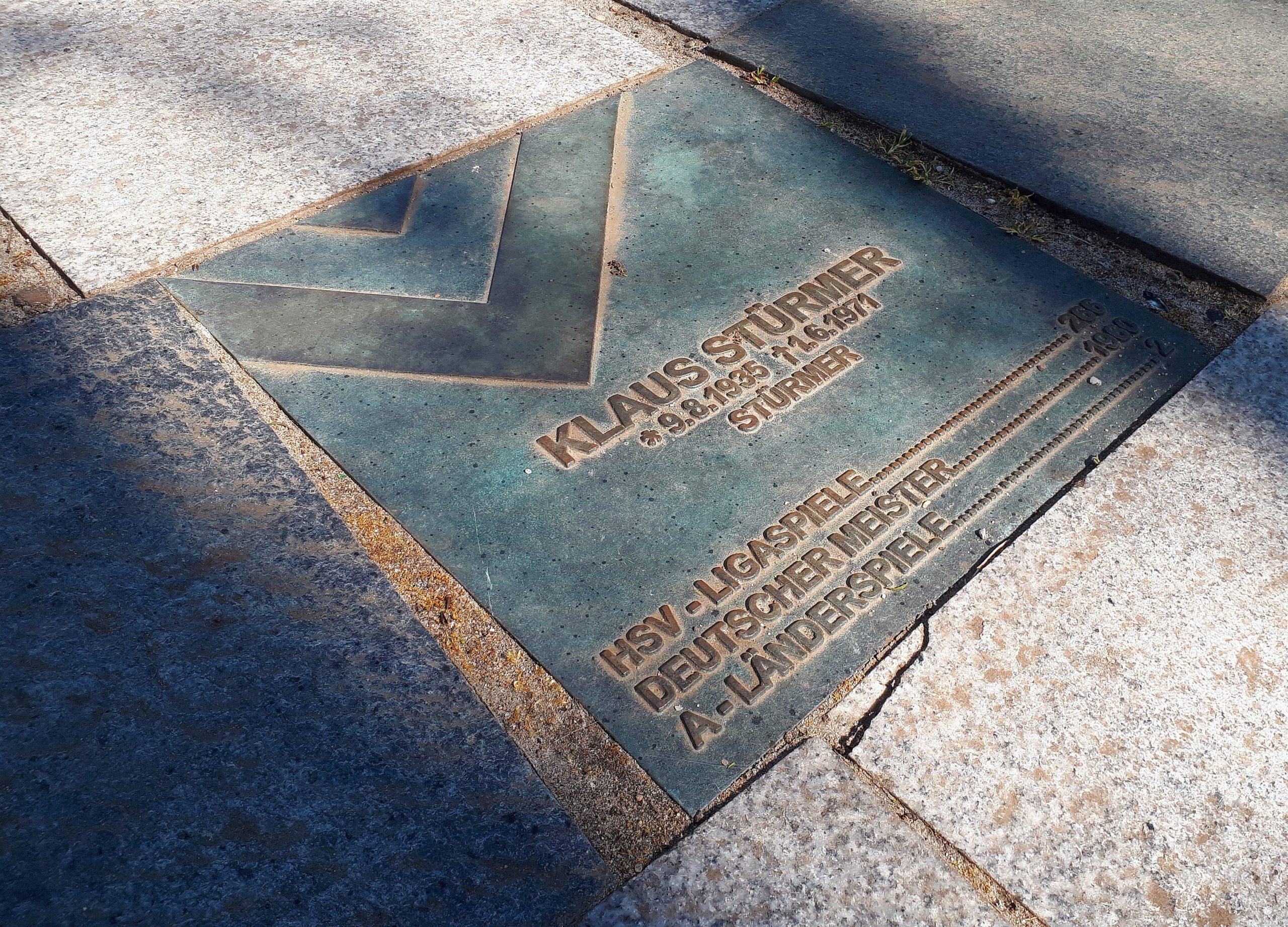 Der Walk of Fame: Klaus Stürmer