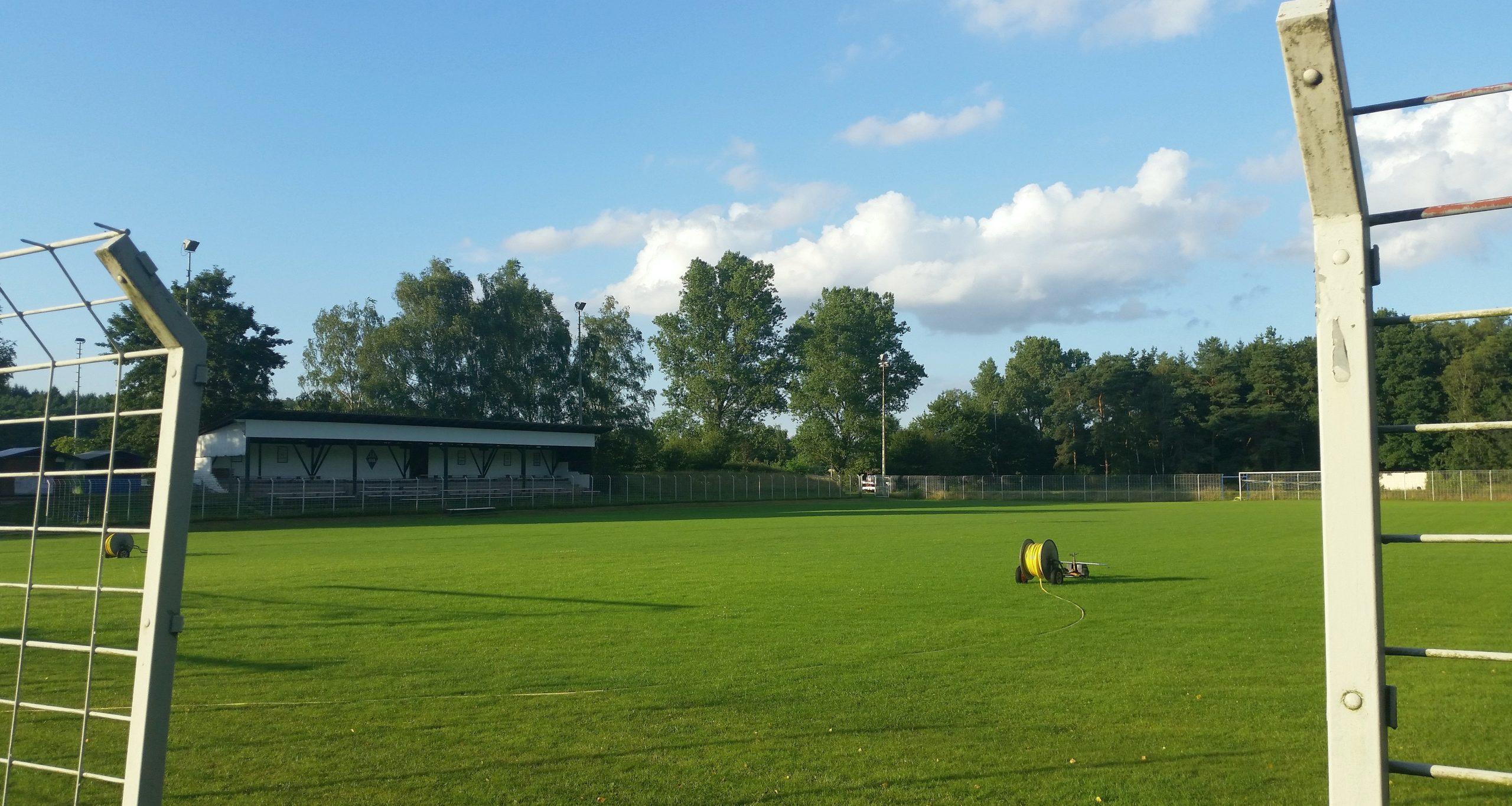 Hier in Alsenborn saß Fritz Walter als Trainer an der Seitenlinie