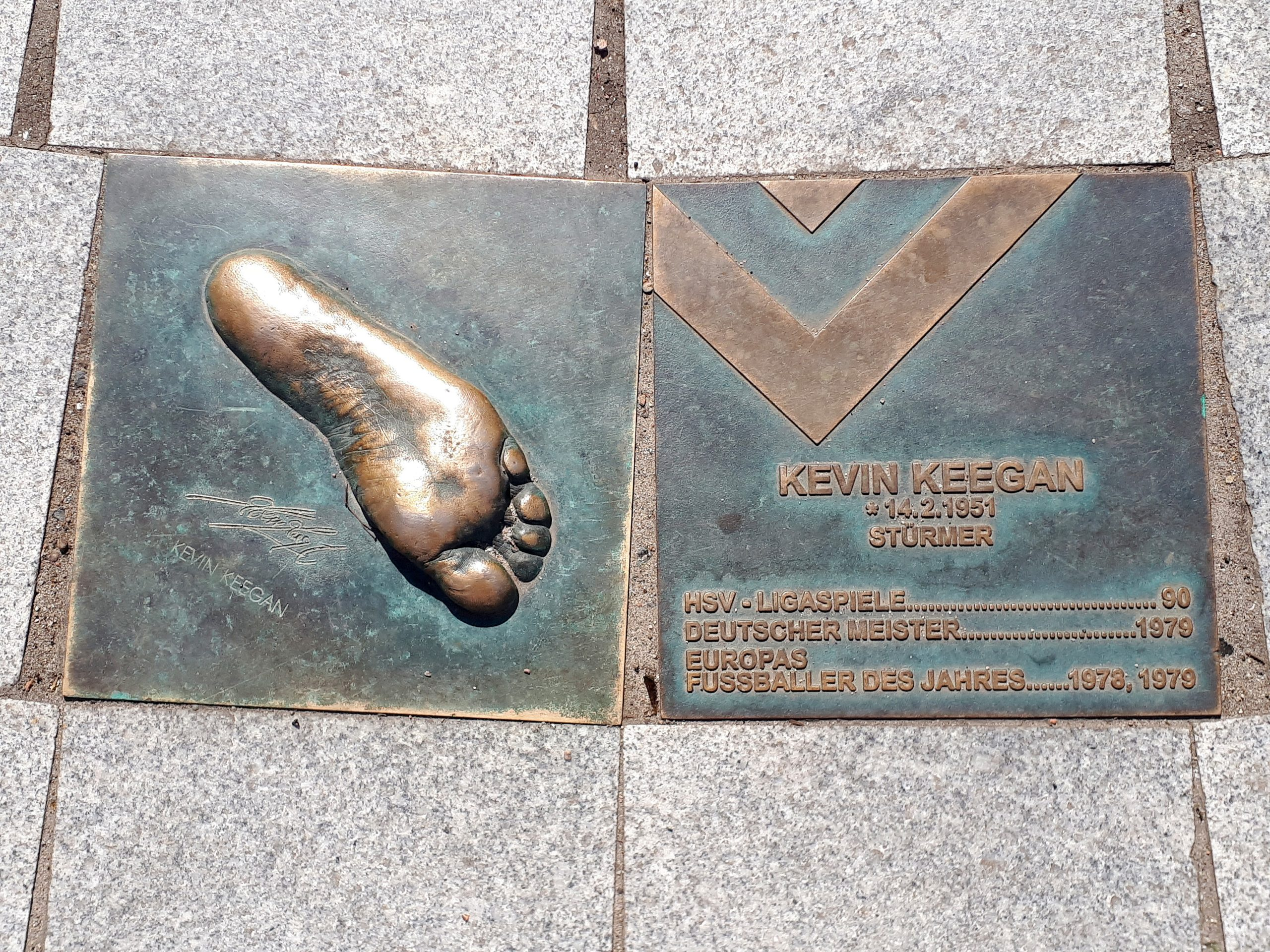 Der Walk of Fame: Kevin Keegan