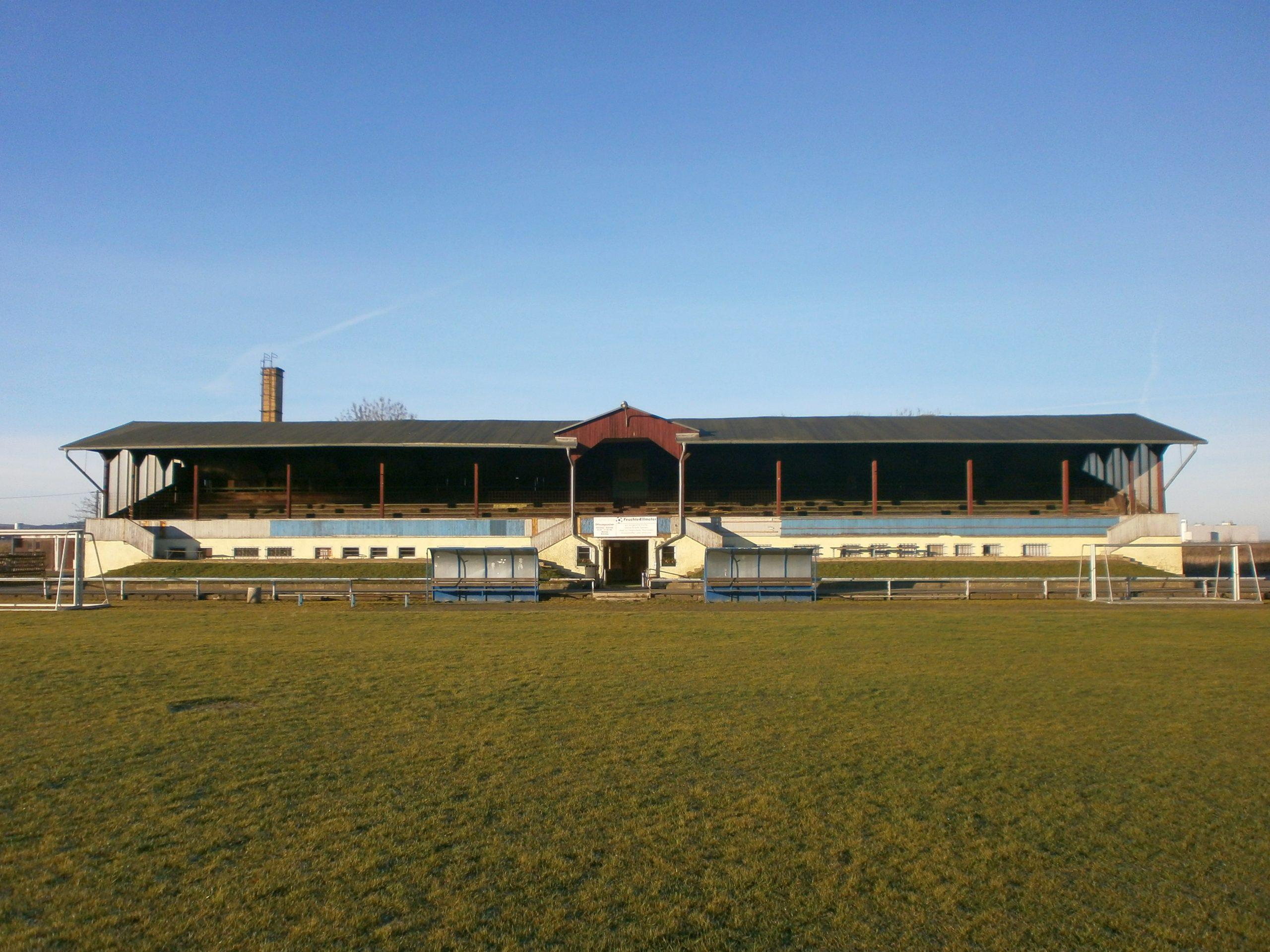 Der Sportplatz Rudisleben, die Manfred-von-Brauchitsch-Kampfbahn