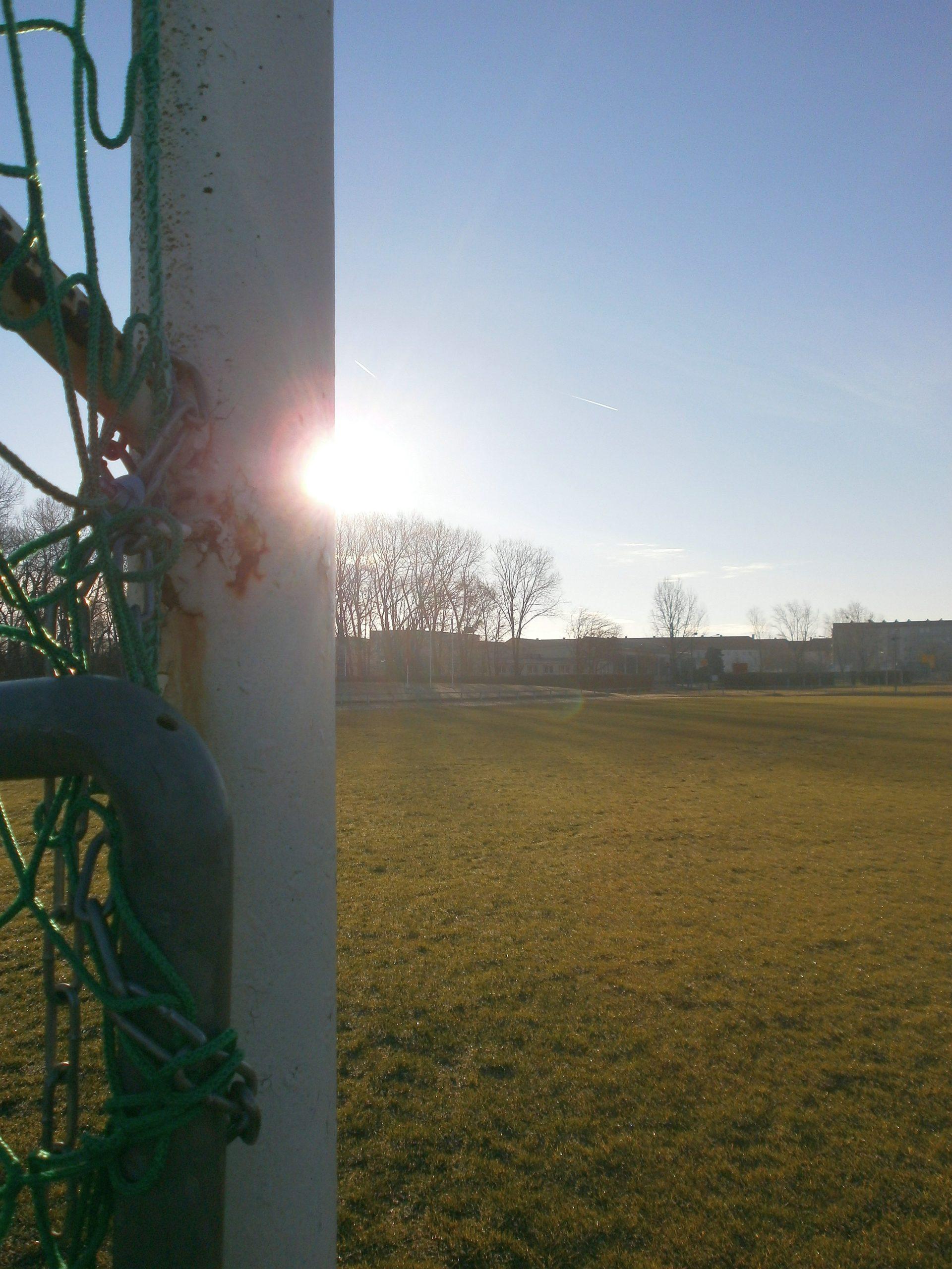 Der Sportplatz Rudisleben