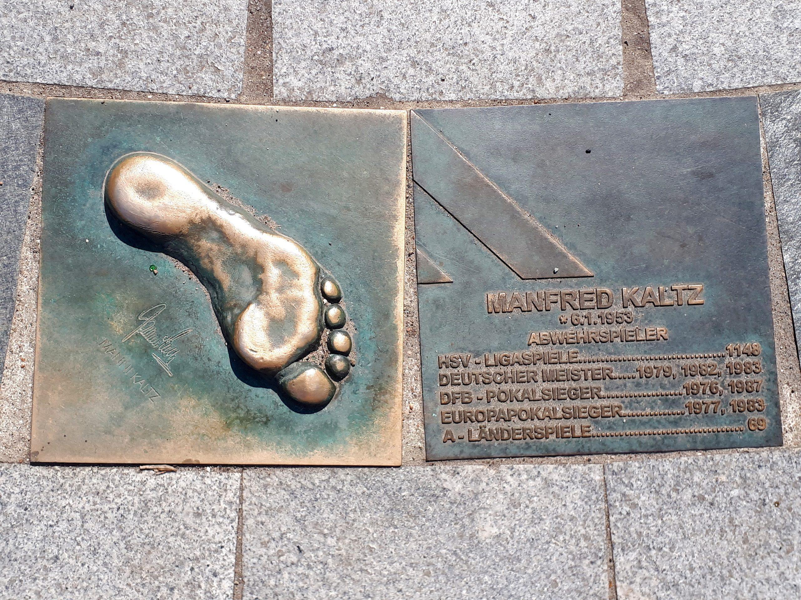 Der Walk of Fame des HSV: Manfred Kaltz