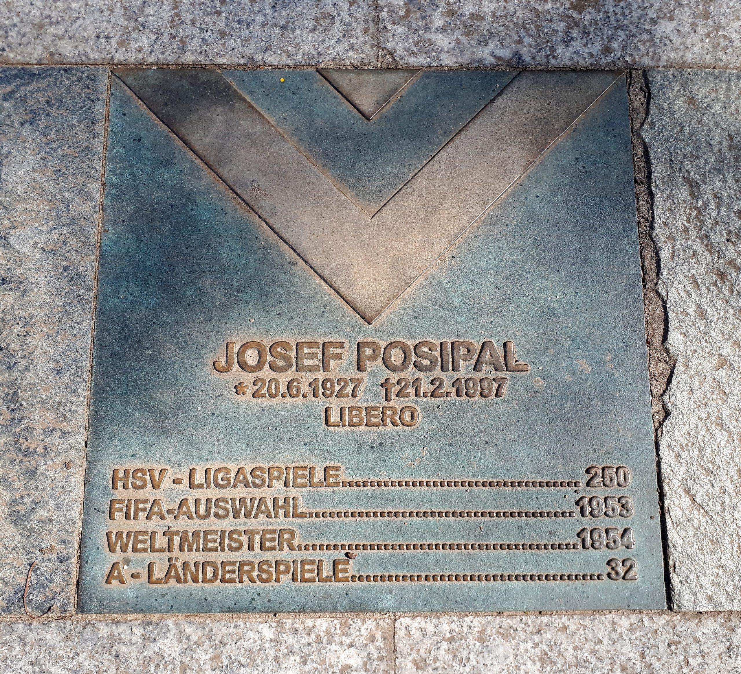 Der Walk of Fame: Jupp Posipal