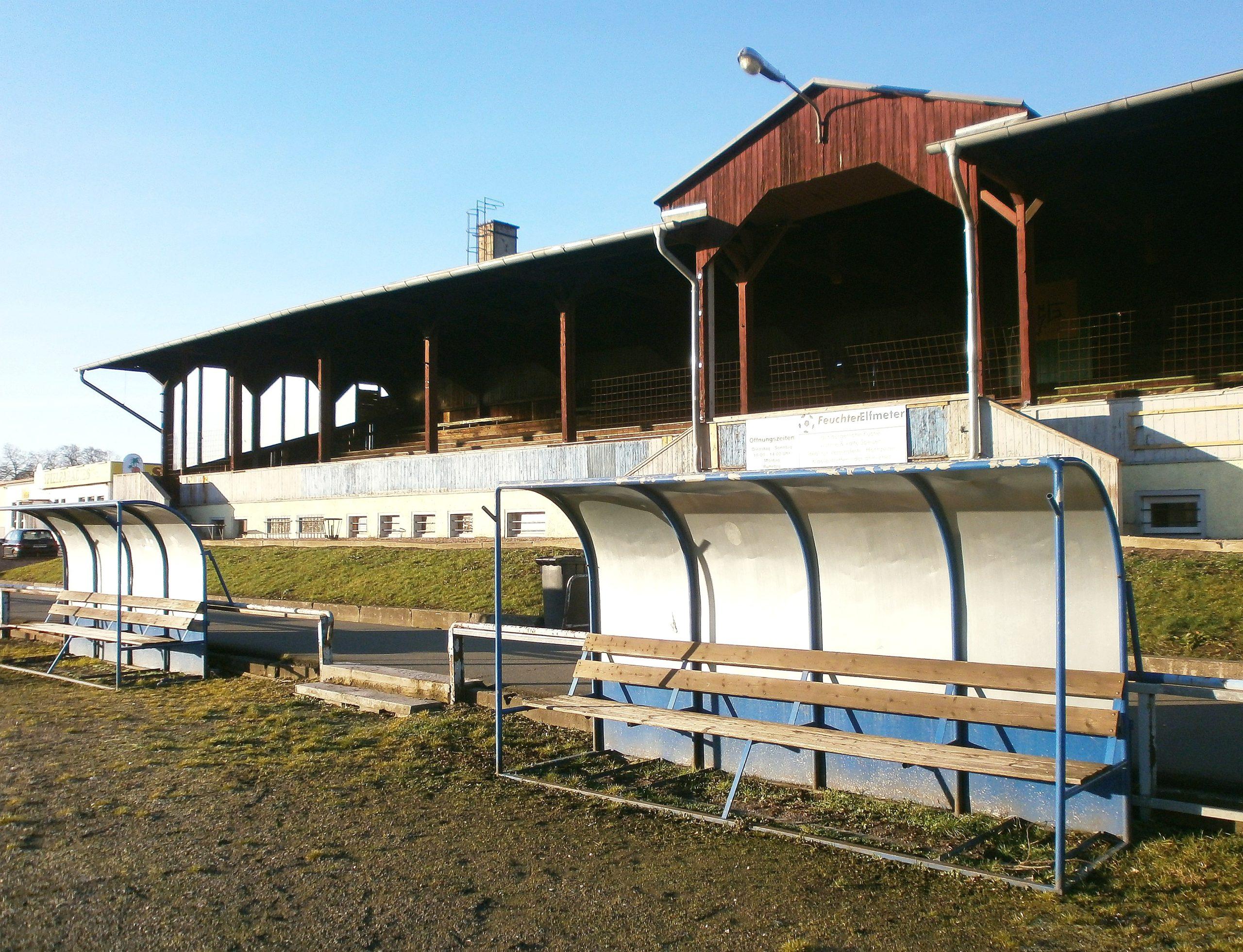 Die Tribüne in Rudisleben ist nicht die älteste Thüringens - die steht auf dem Boxberg in Gotha