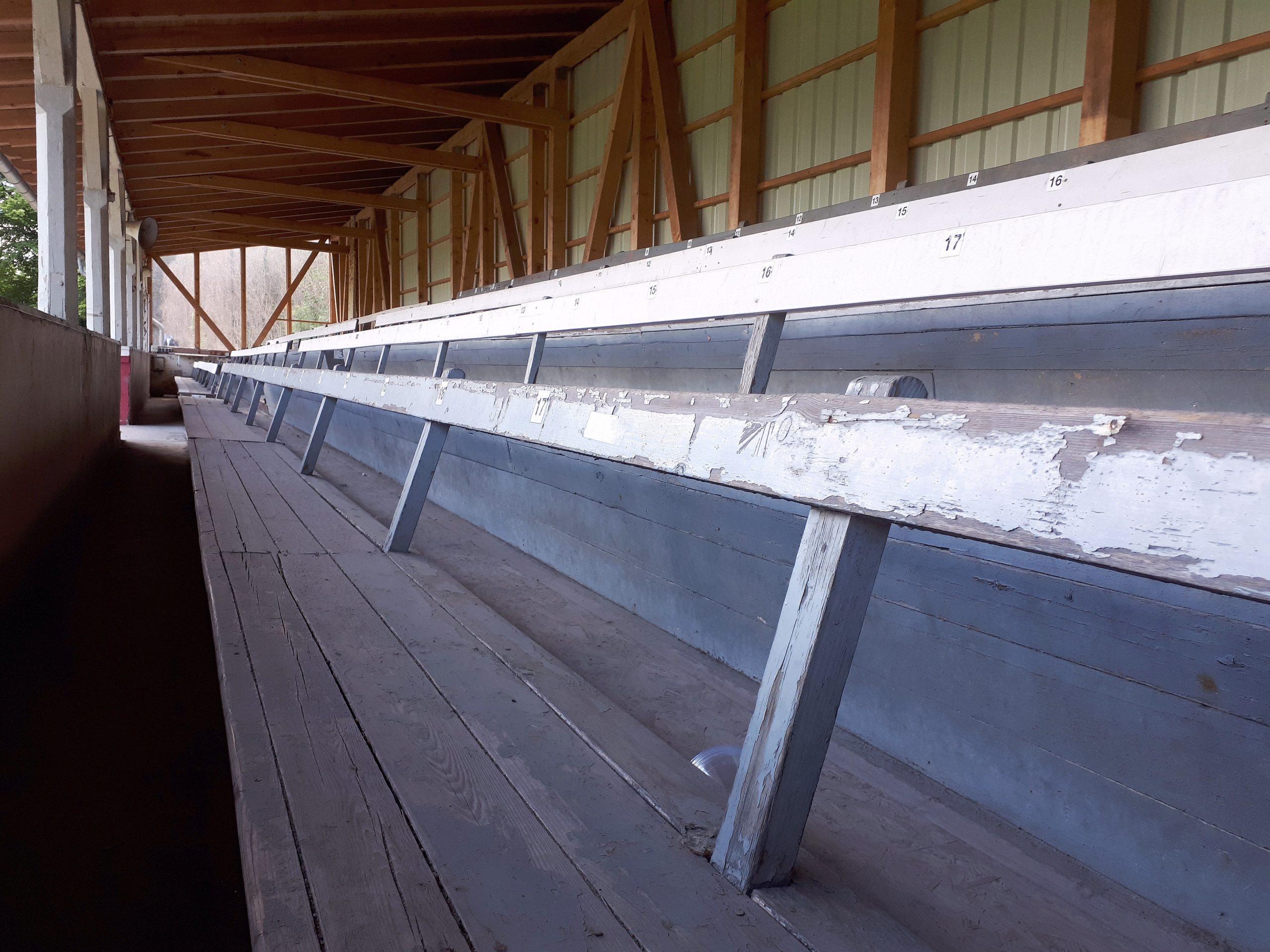 Norddeutschlands älteste Tribüne befindet sich im Kieler Kilia-Stadion