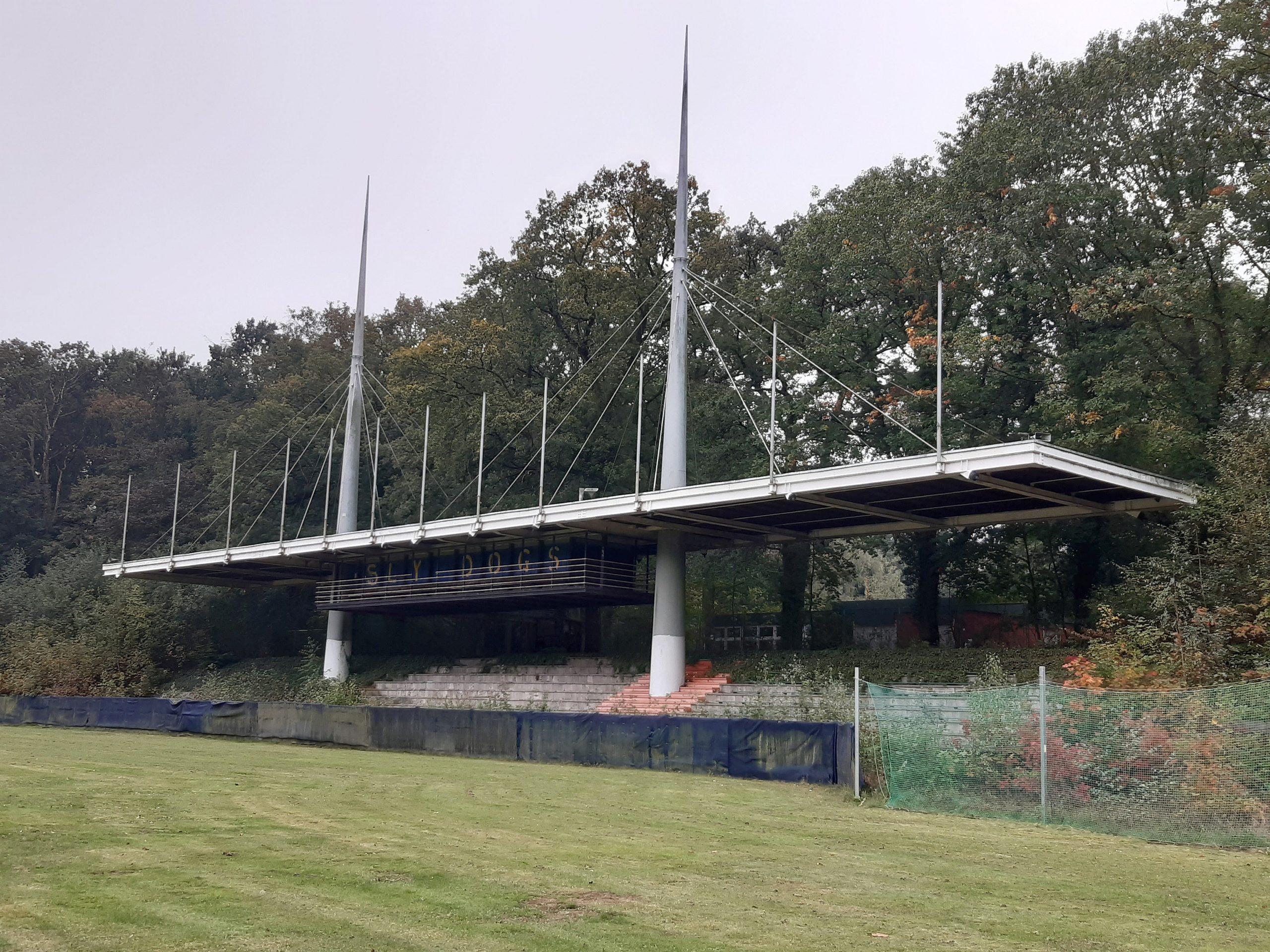 Das Jahnstadion in Marl