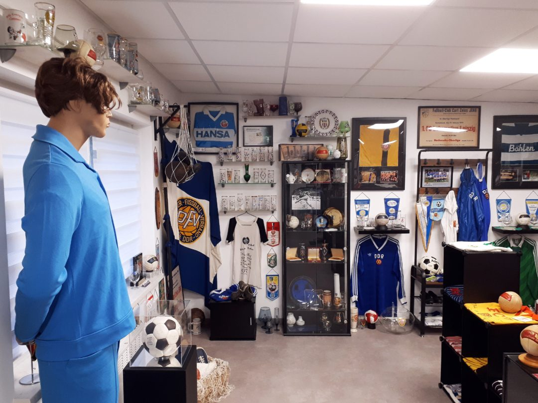 Das DDR-Fußball-Museum