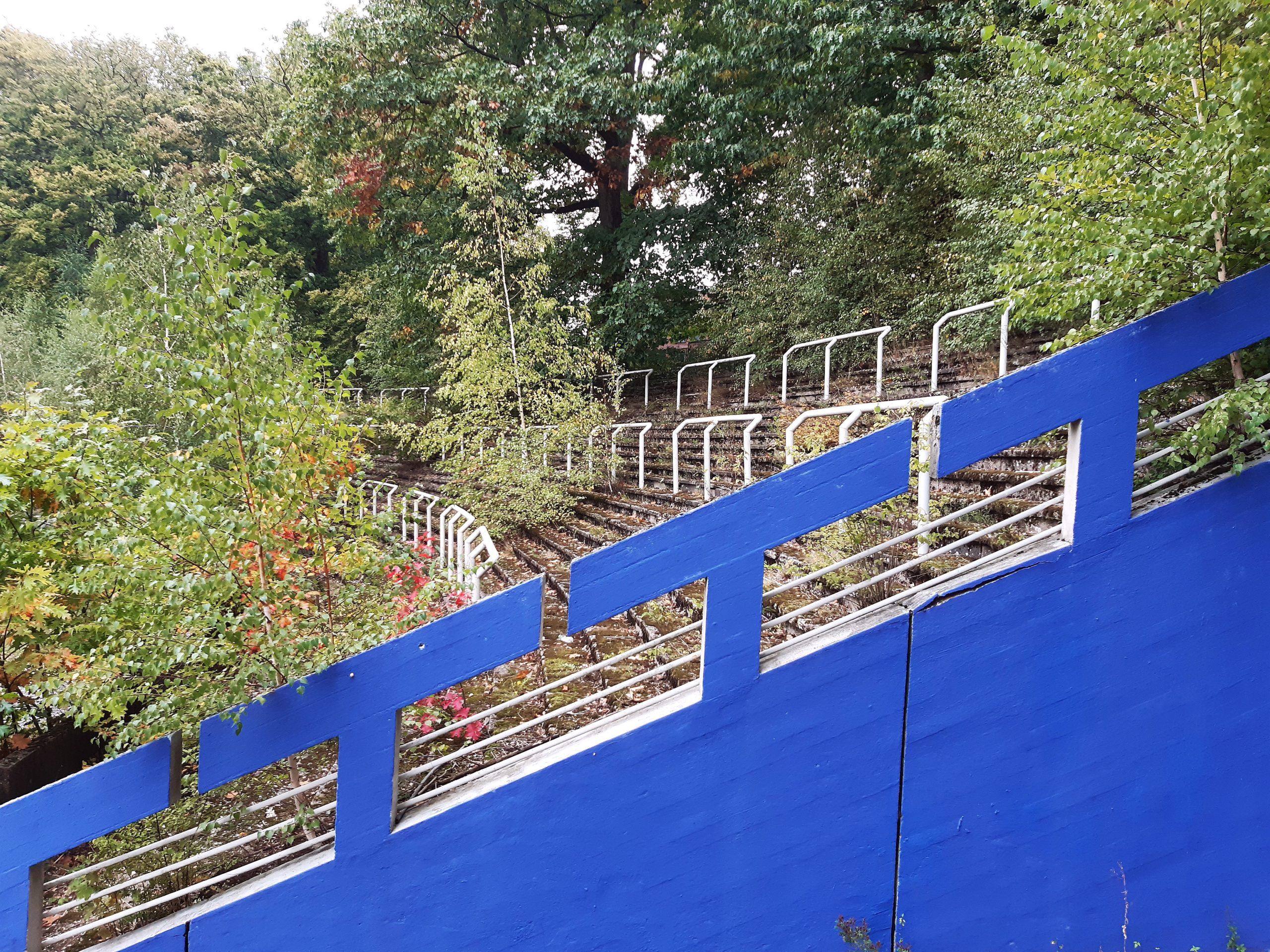 In den Sechzigerjahren standen hier die Fans des TSV Marl-Hüls