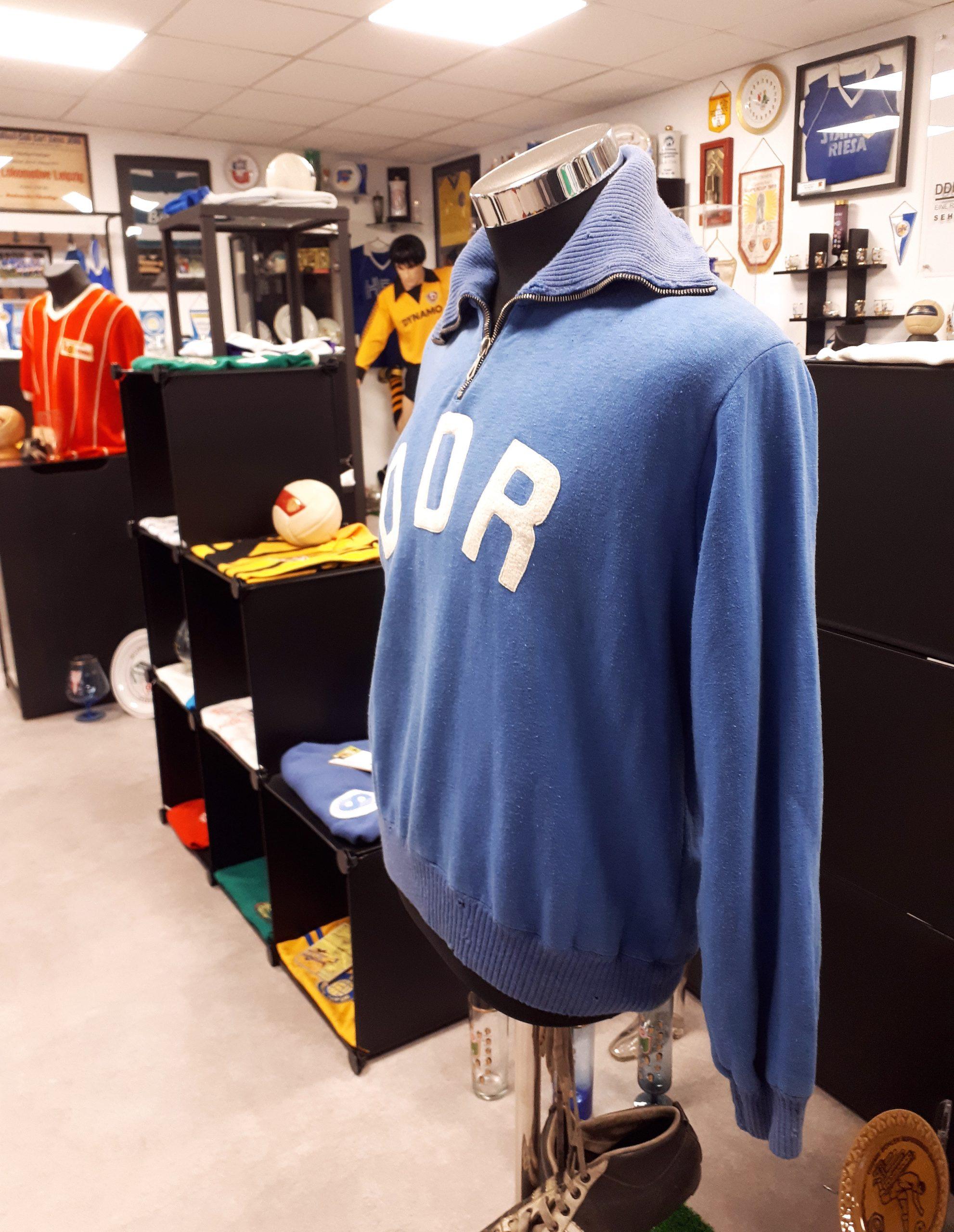 Ein Blick ins DDR-Fußball-Museum