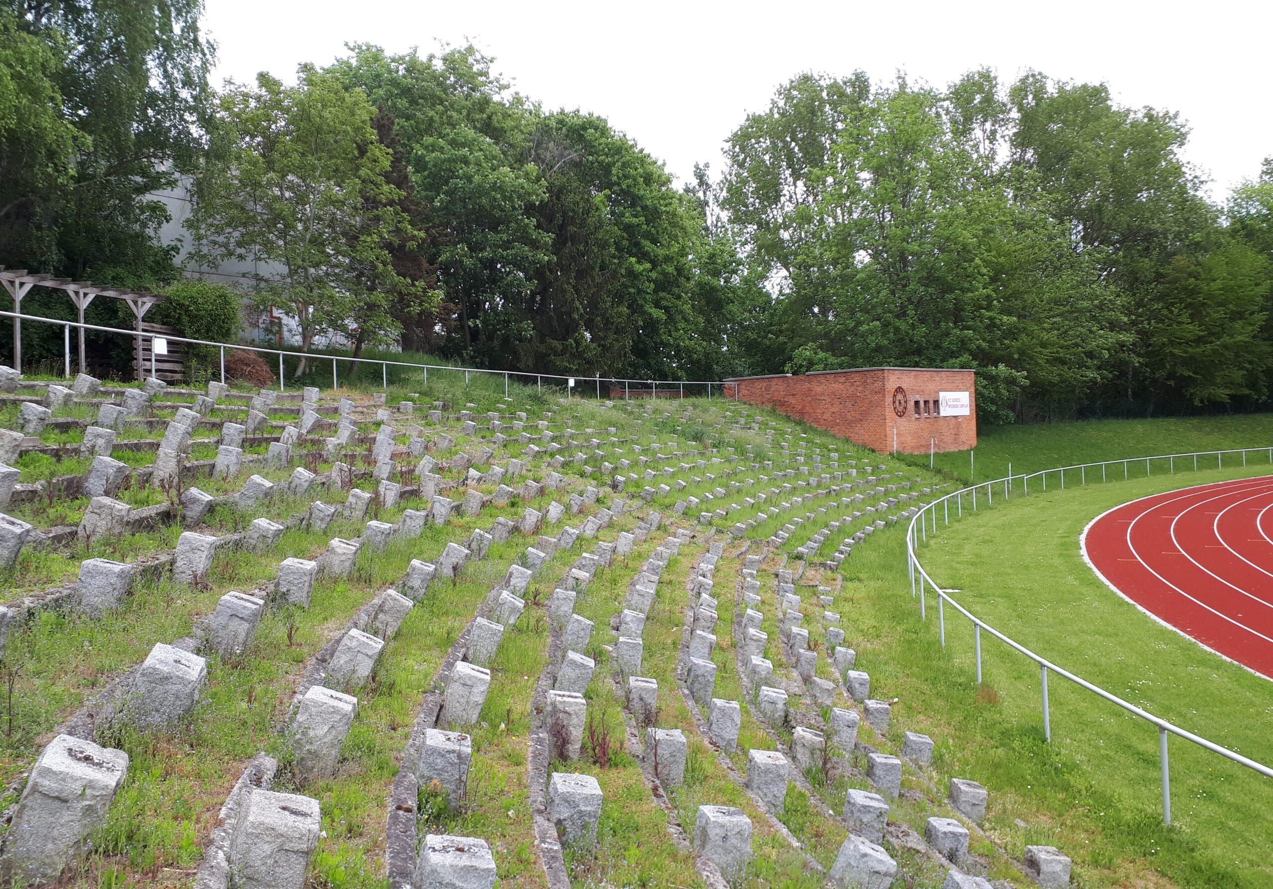 Das Kurt-Bürger-Stadion in Wismar
