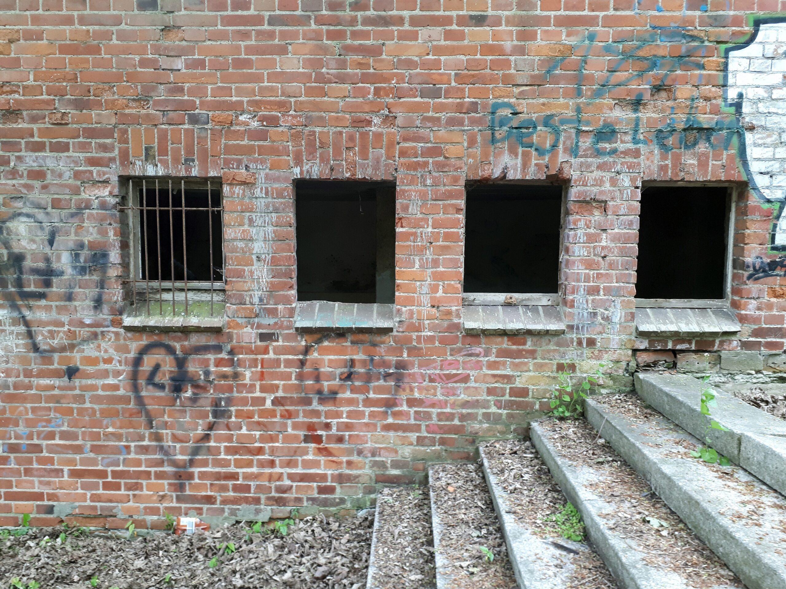 Vandalismus hat auch Einzug gehalten