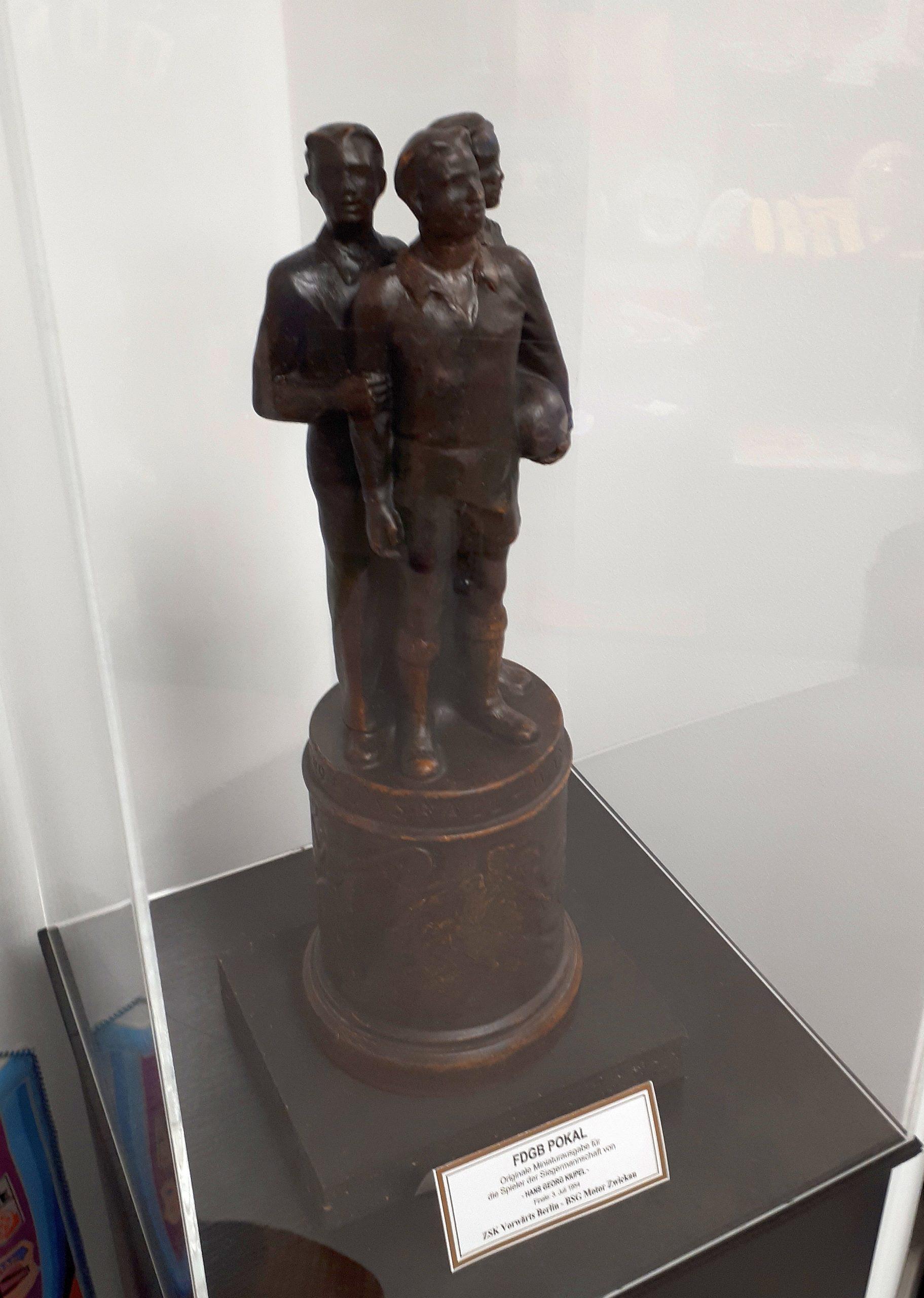 Der FDGB-Pokal war das Äquivalent zum DFB-Pokal