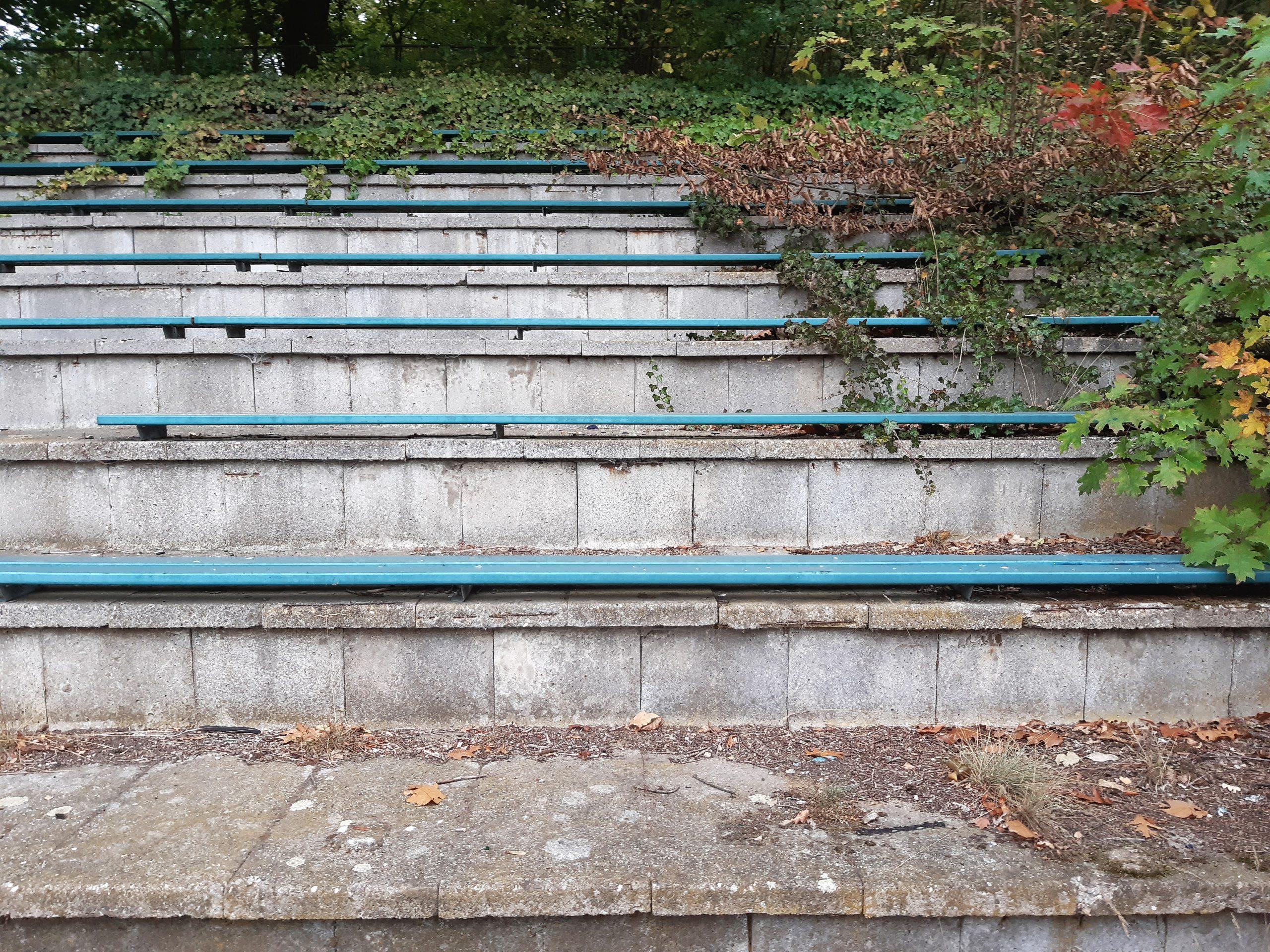 Sitzplätze auf der Haupttribüne