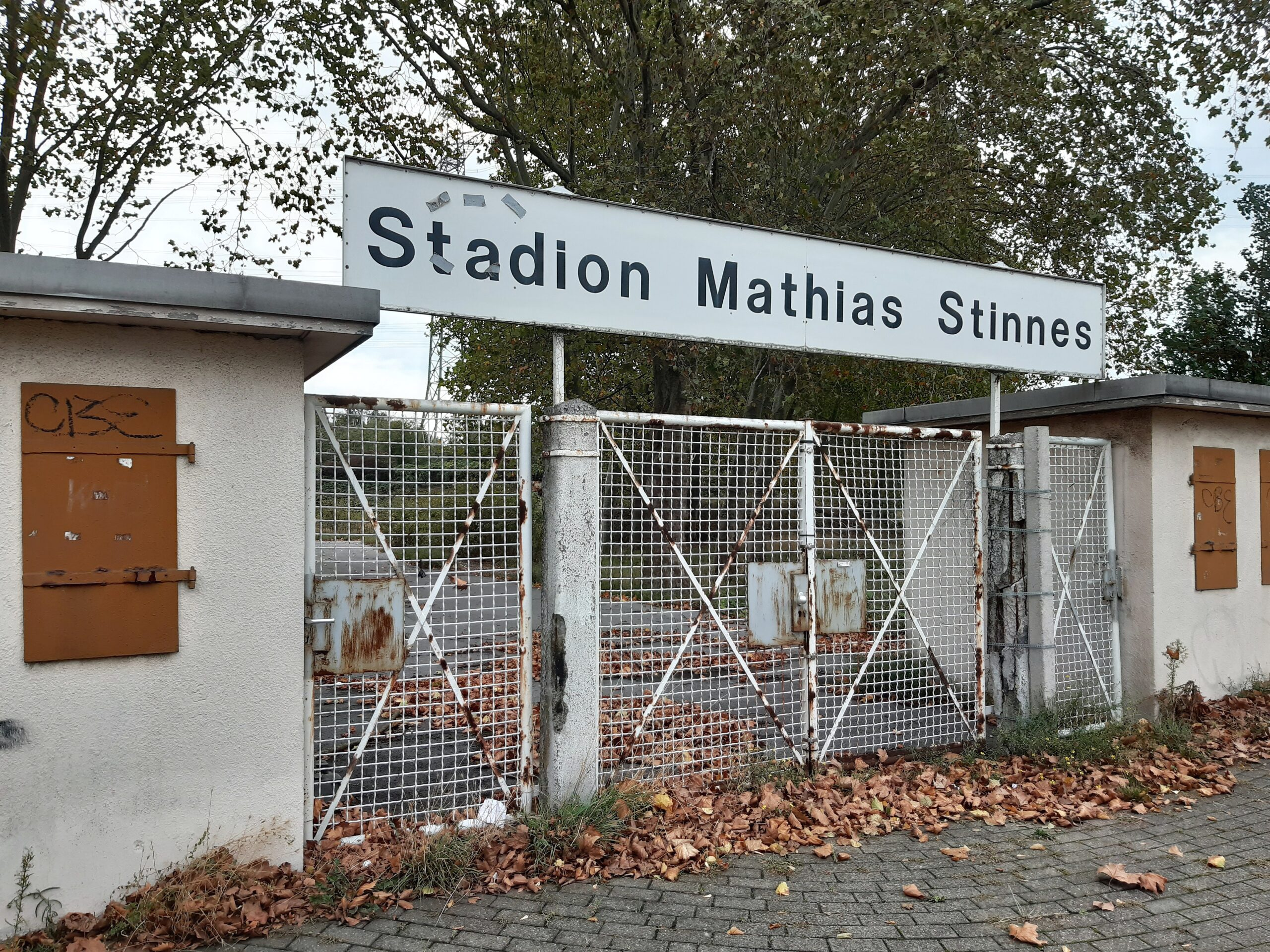 Das Stadion Mathias Stinnes
