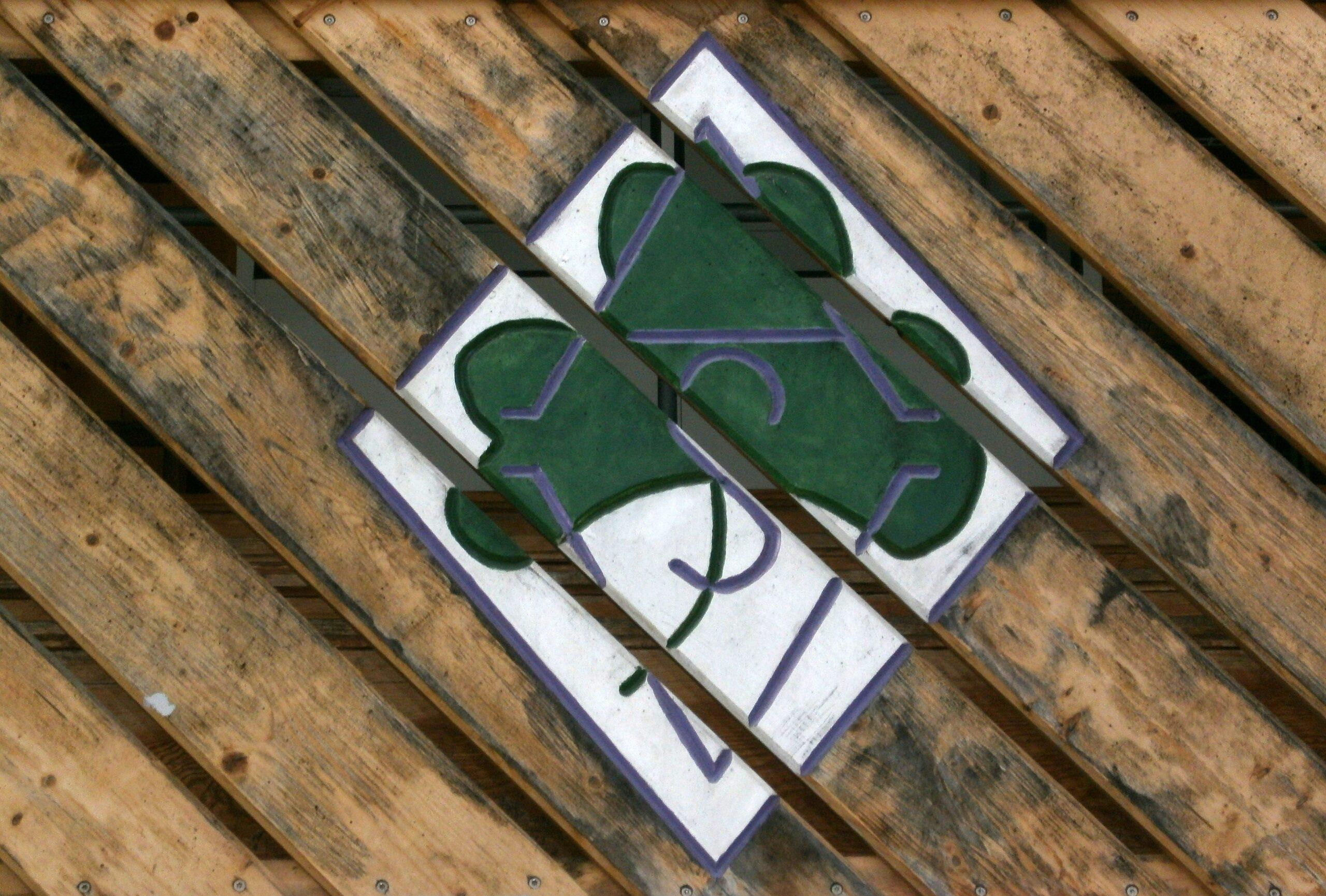 Das Wappen des heutigen Hausherren ASV Fürth