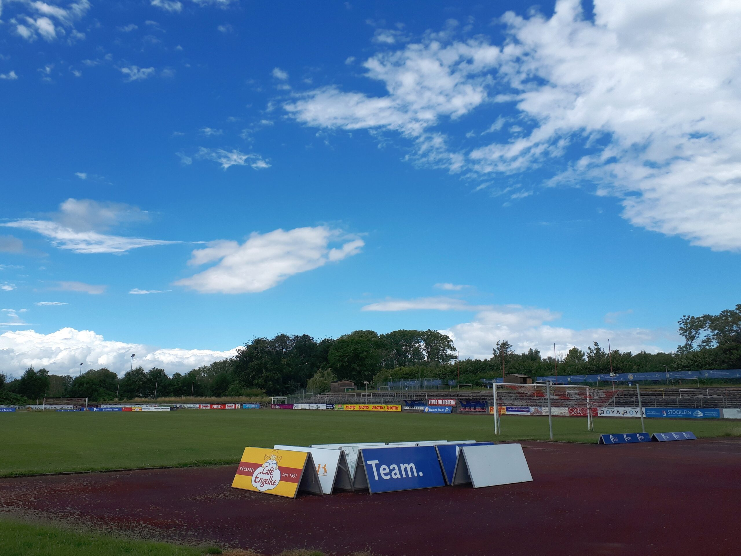 Schon Uwe Seeler lief über den Rasen dieses Stadions