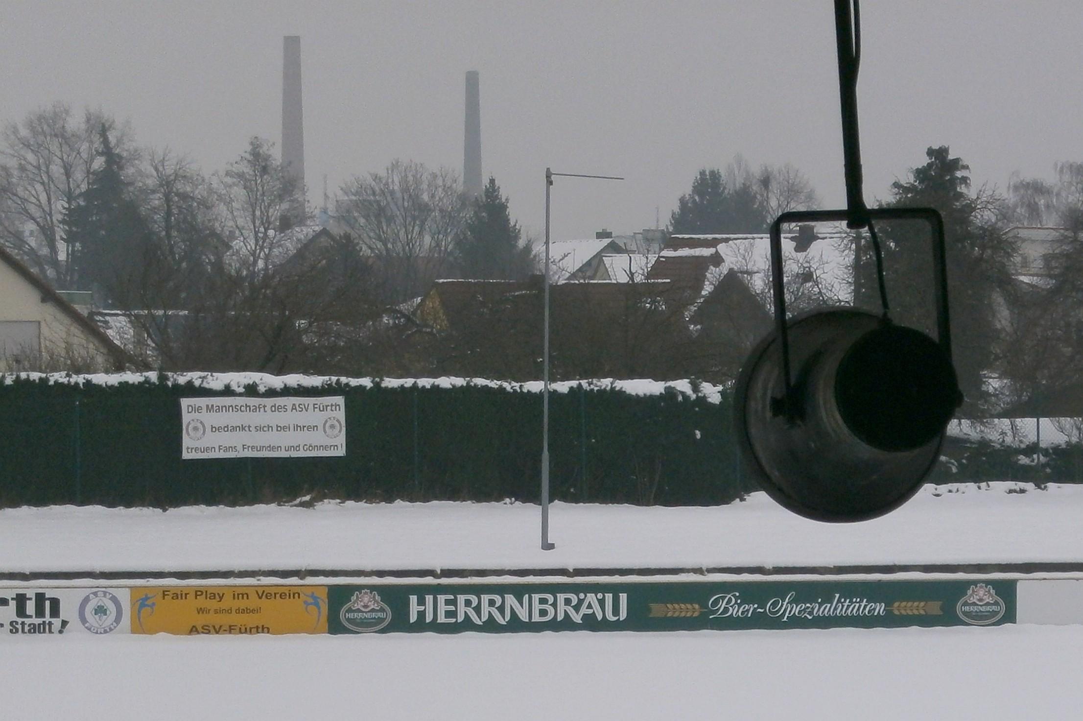 Das Stadion steht in einem Arbeiterviertel