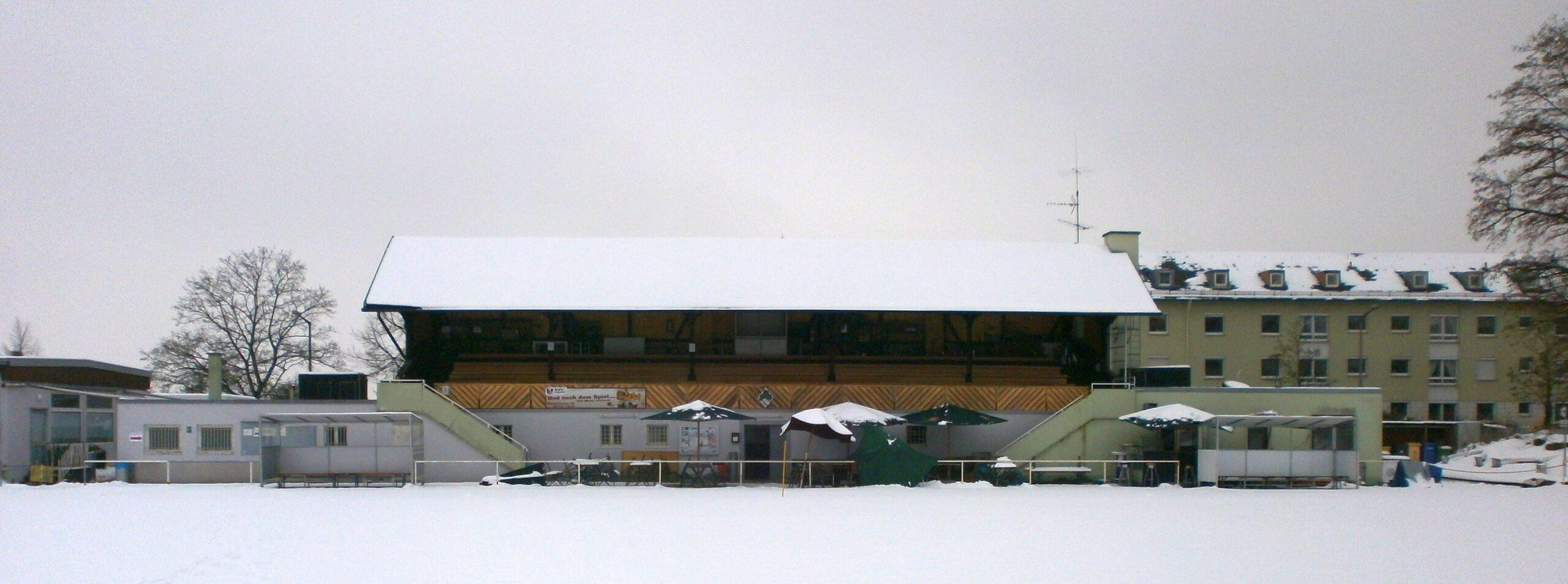 Das Stadion an der Magazinstraße in Fürth