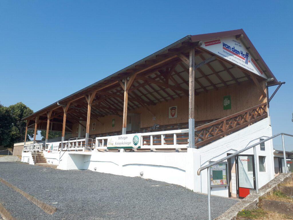 Die Westkampfbahn in Düren: Hier steht Deutschlands älteste Tribüne