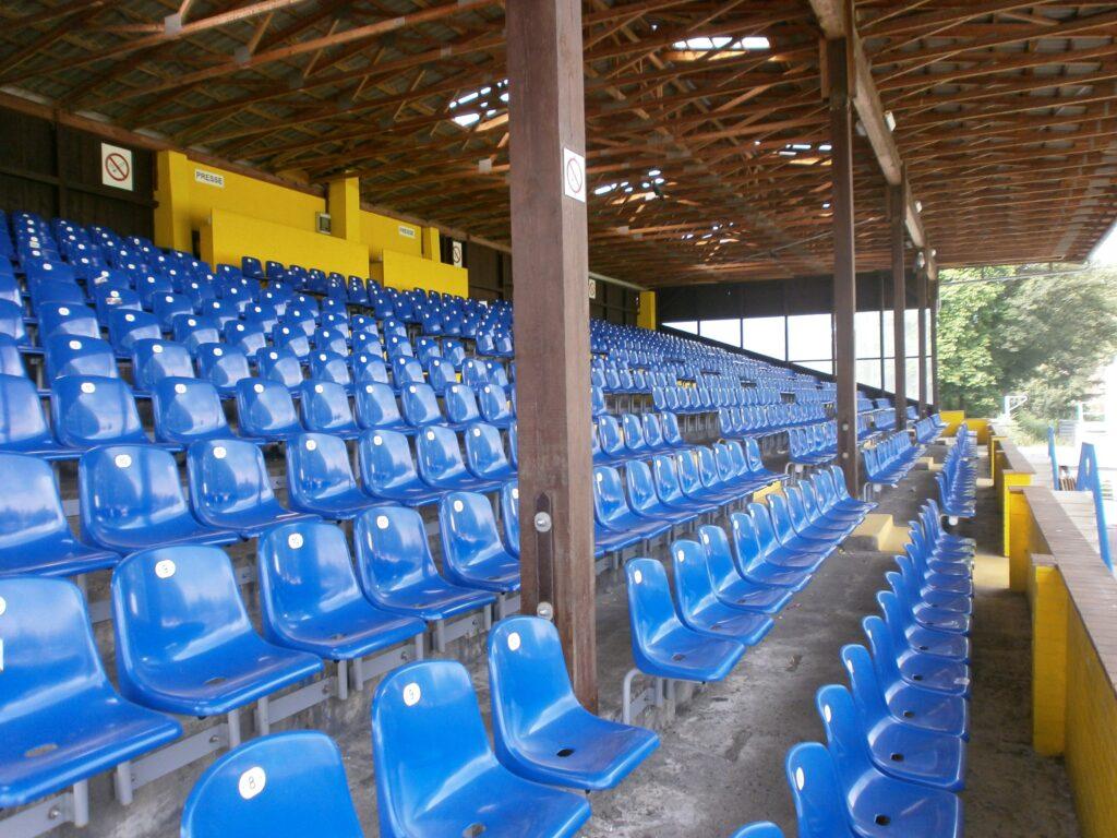 Das Stadion Hoheluft in Hamburg