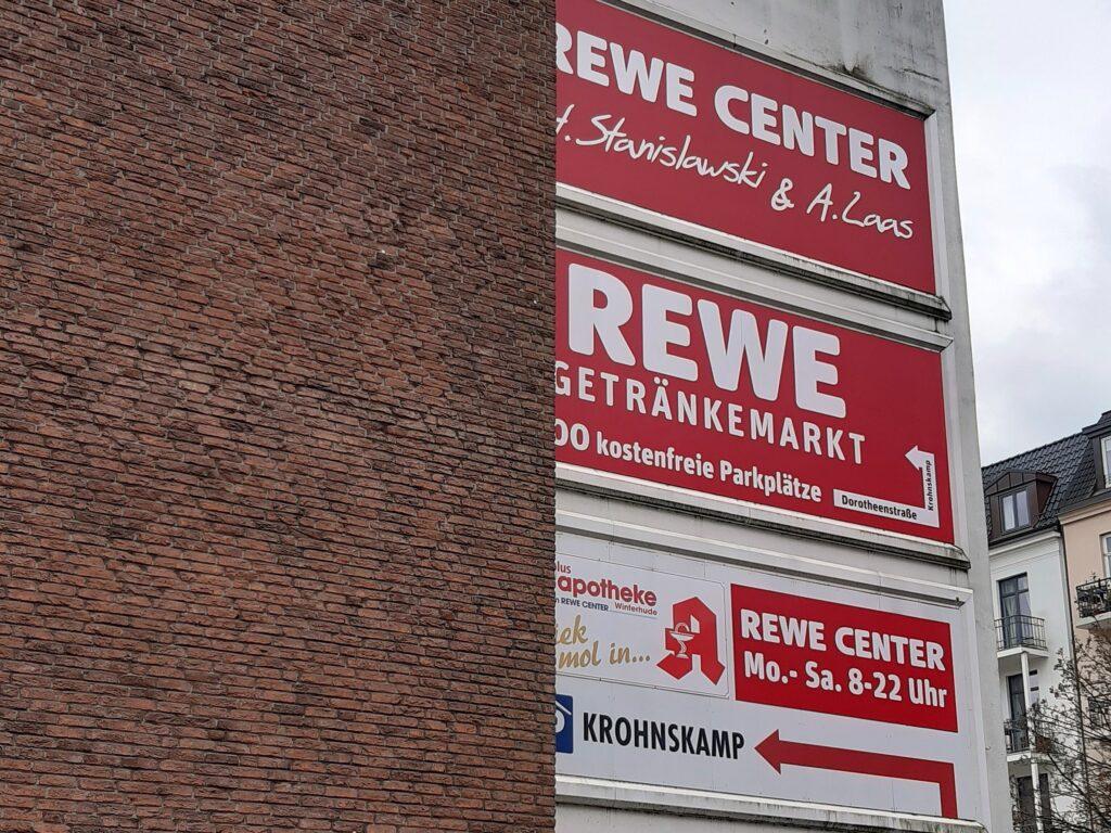 Der REWE Stanislawski in Hamburg-Winterhude