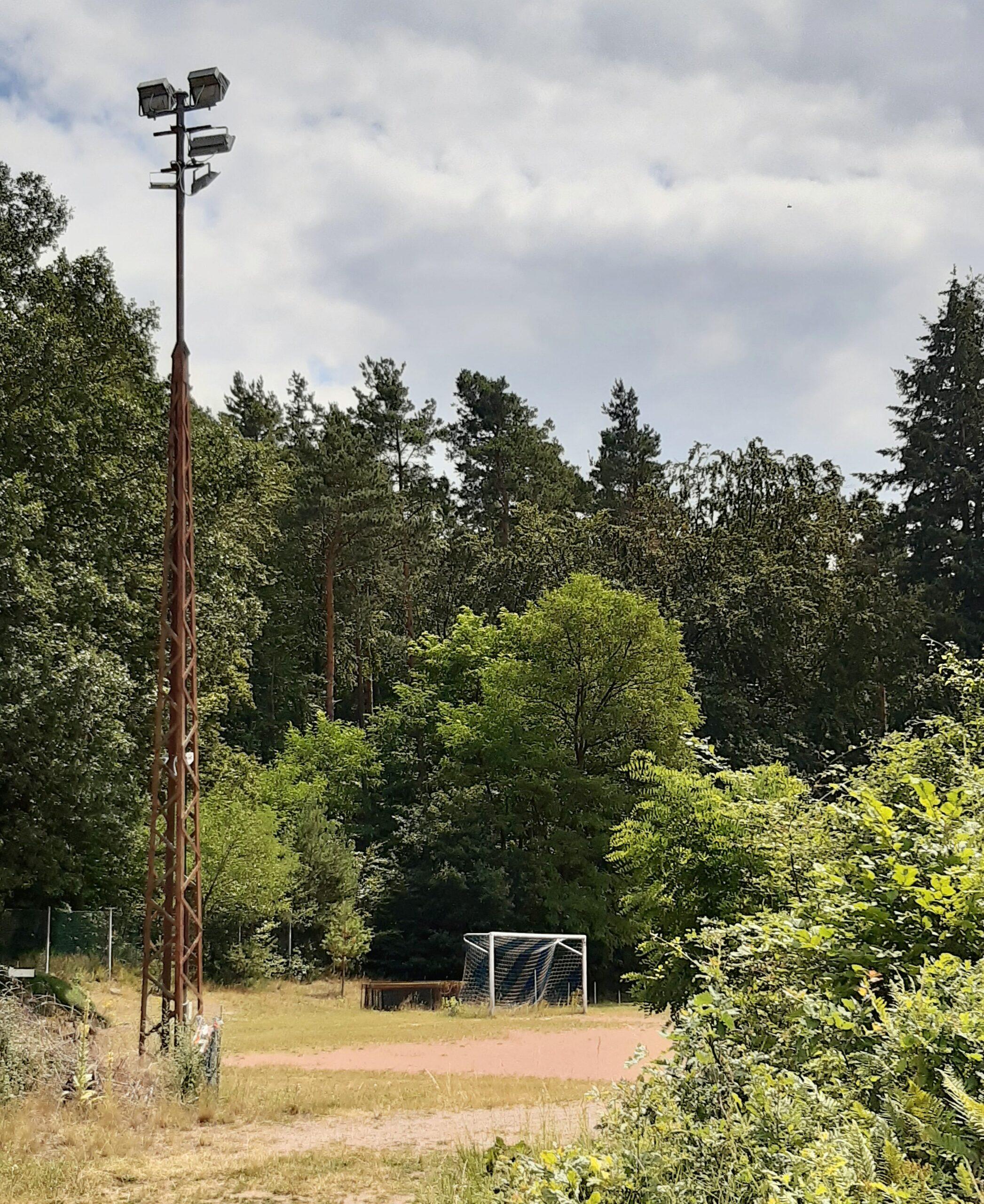 Das Waldstadion am Erbsenberg in Kaiserslautern