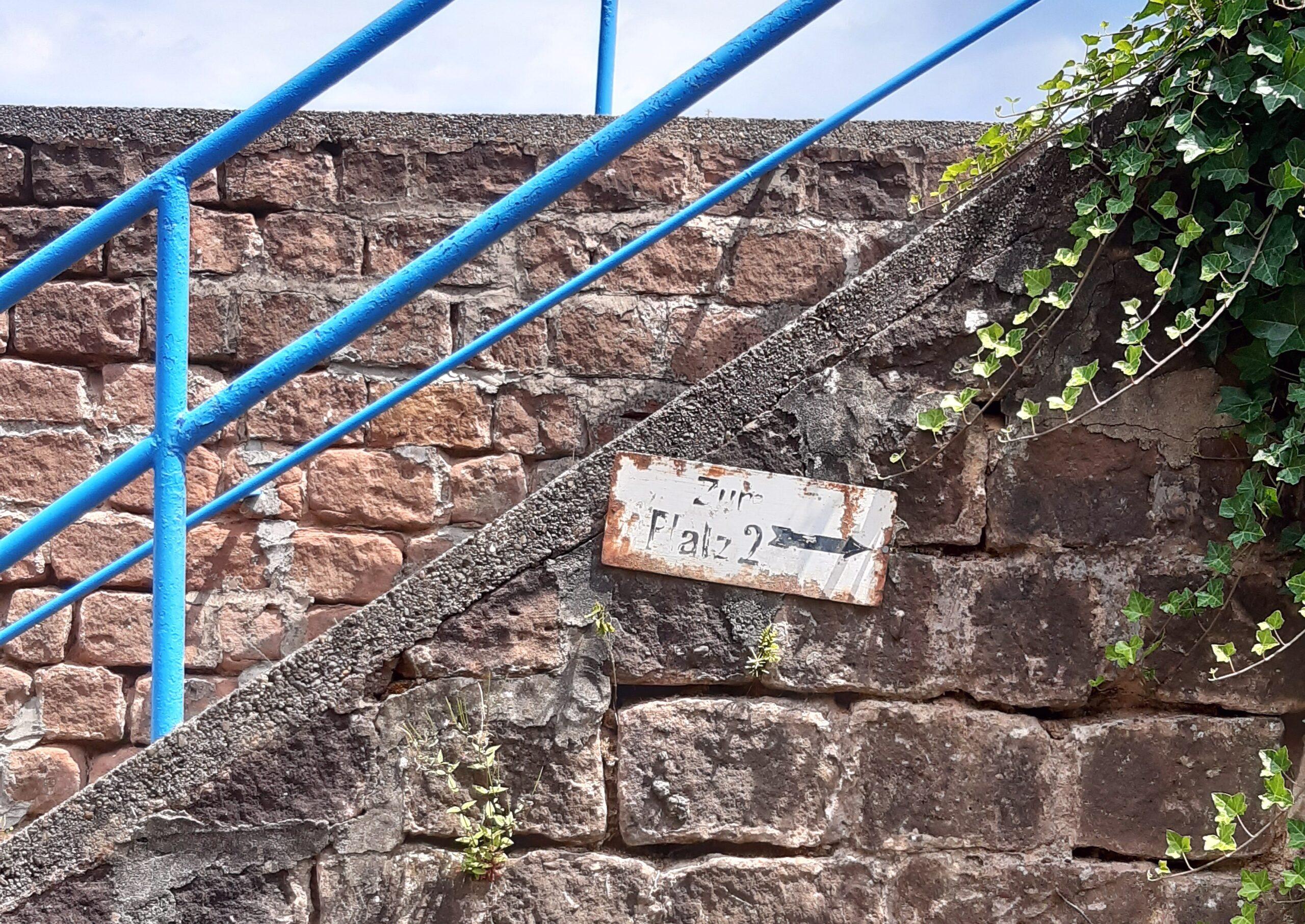 Treppenaufgang am Erbsenberg
