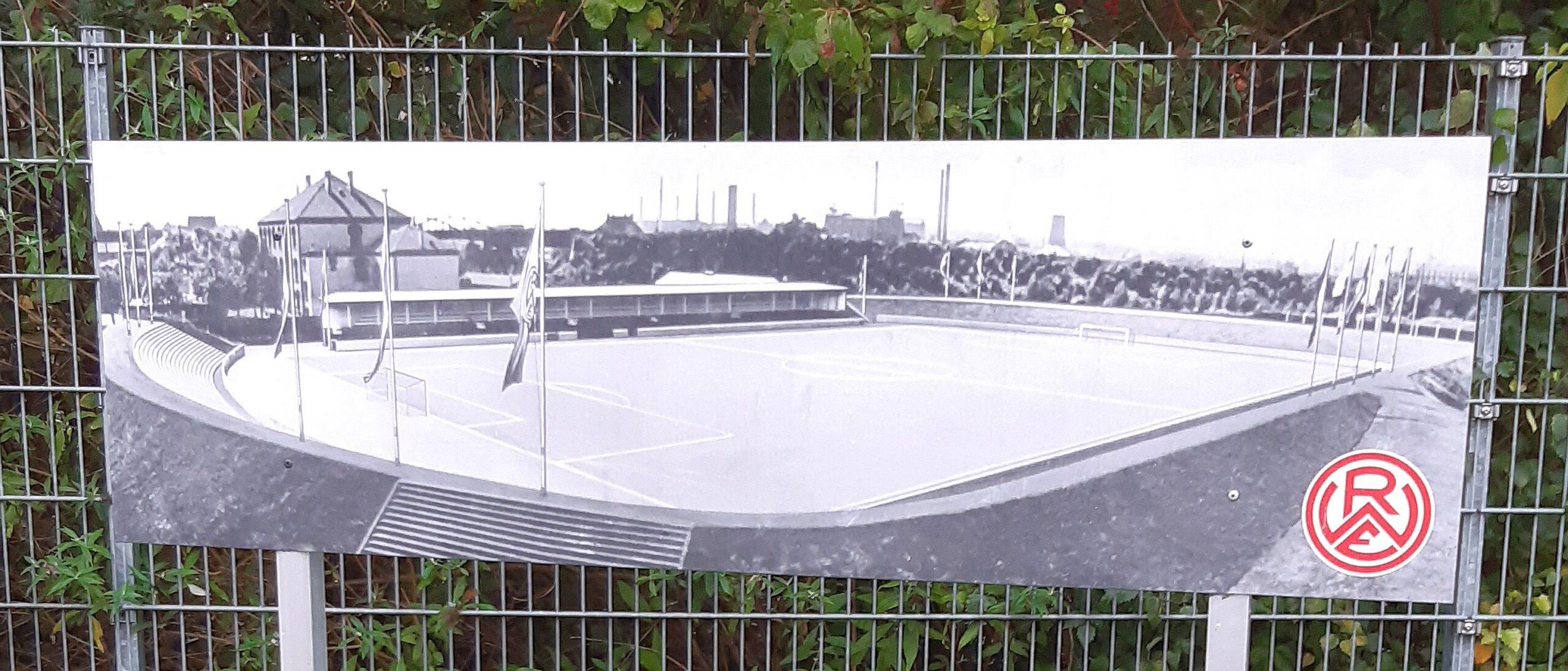 Das alte Georg-Melches-Stadion