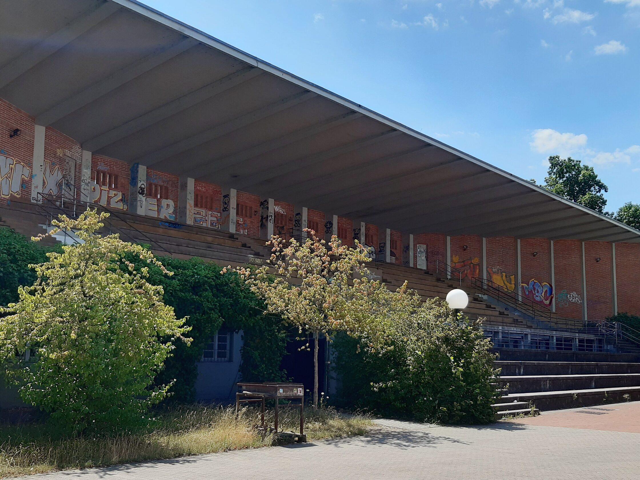 Altes Hochschulstadion in Karlsruhe