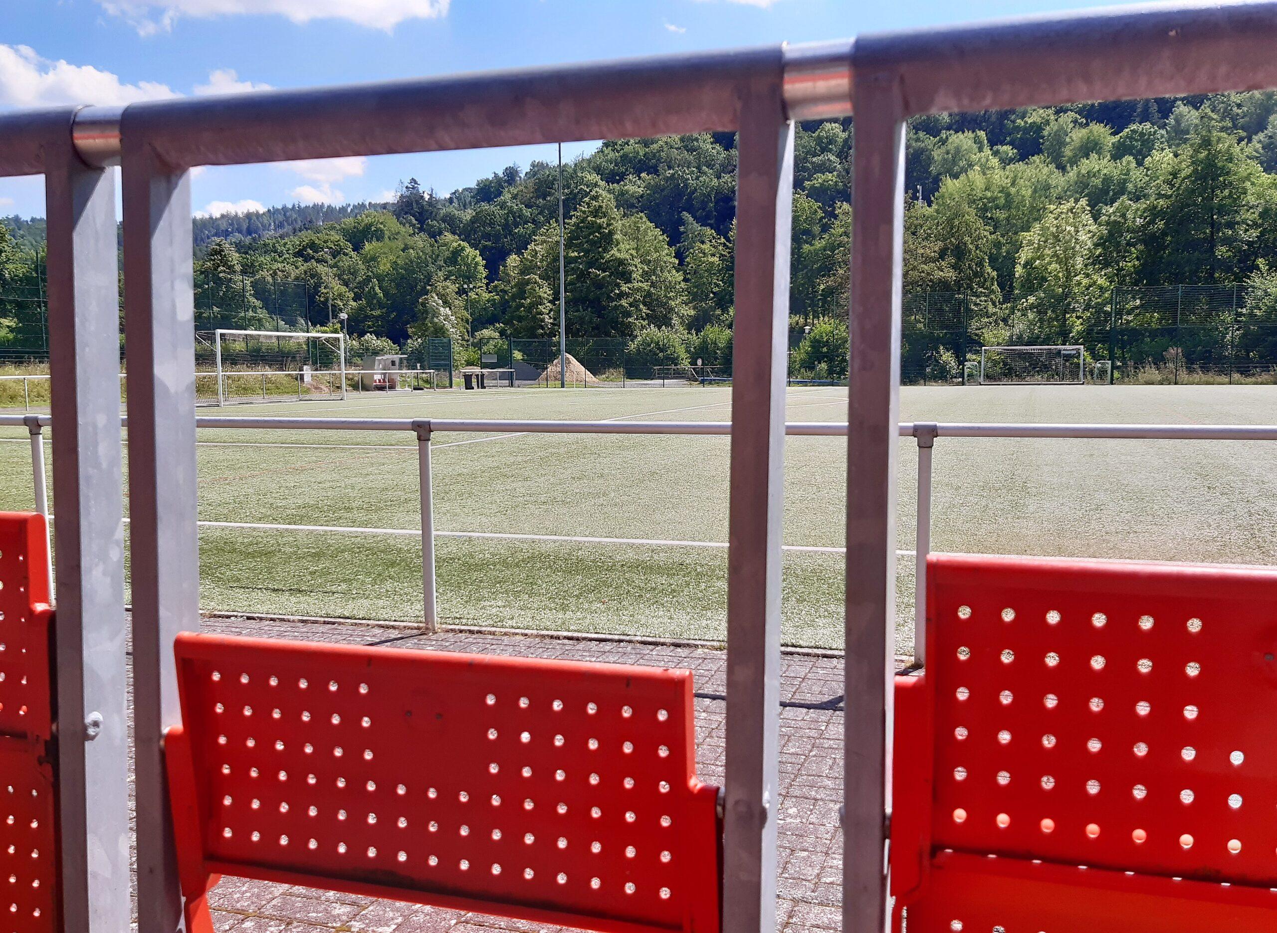 Klappsitze aus Köln beim TSV Spangenberg