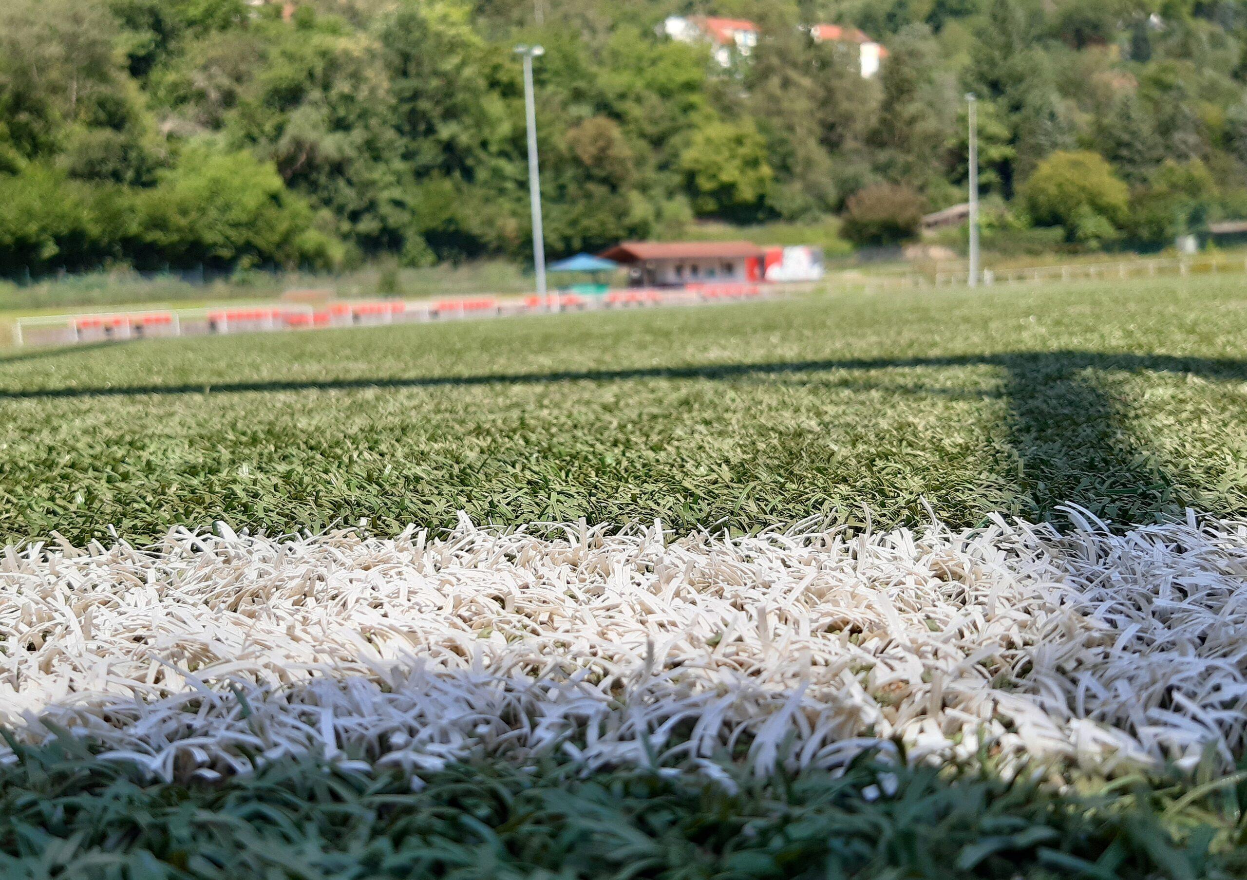Der Liebenbachsportplatz des TSV Spangenberg